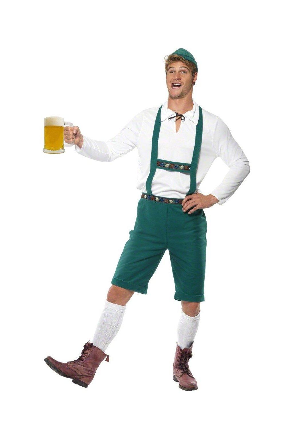 Pánský kostým Oktoberfest - zelený