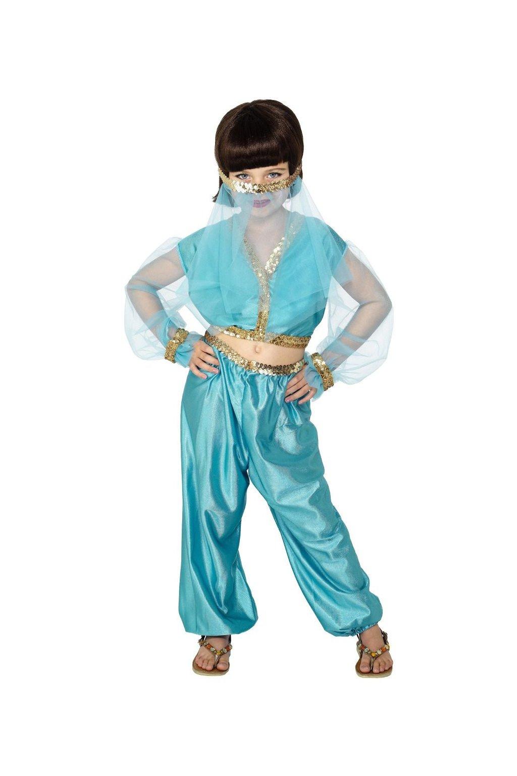 Dětský kostým - brišní orientální tanečnice