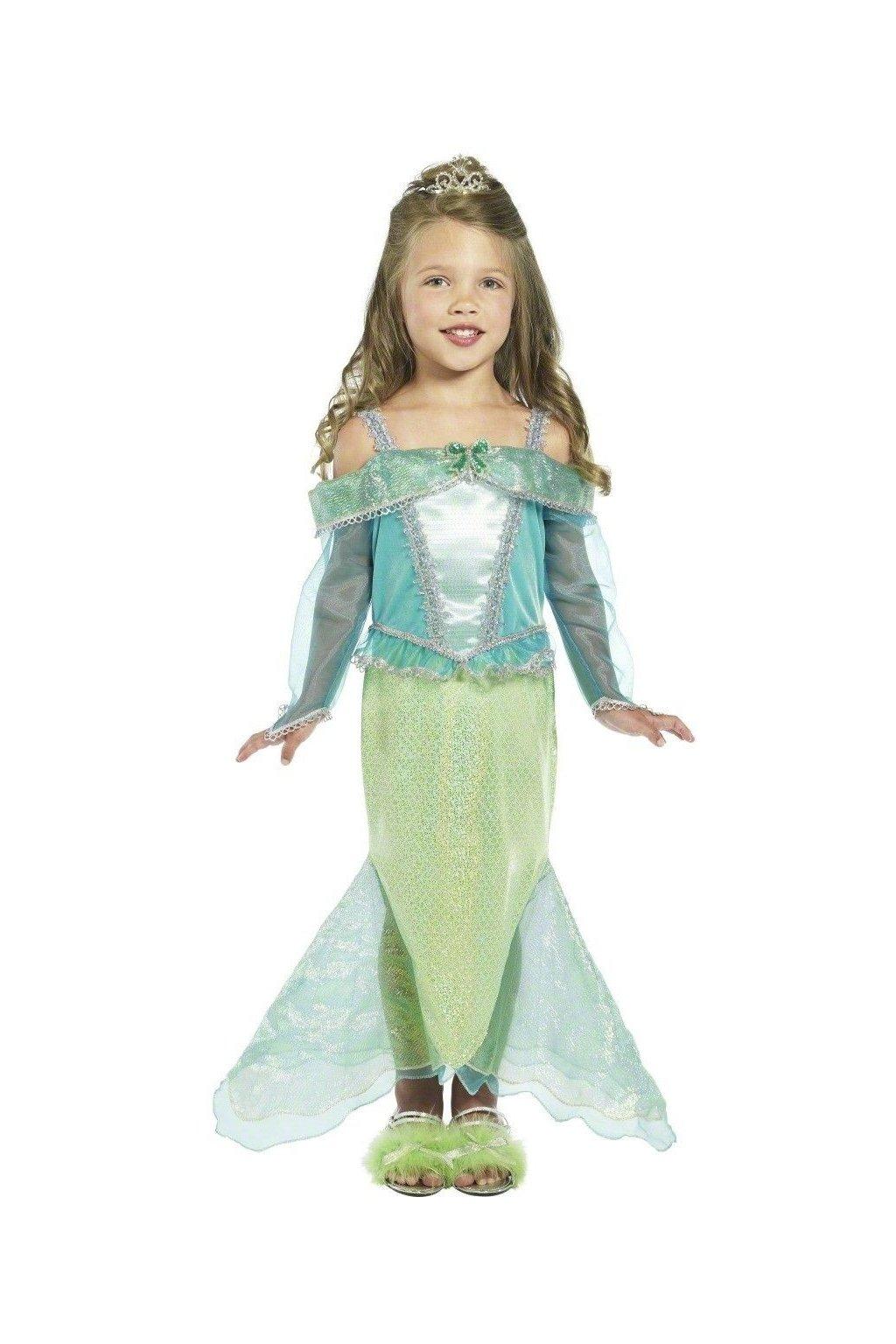 Dětský kostým Malá mořská panna