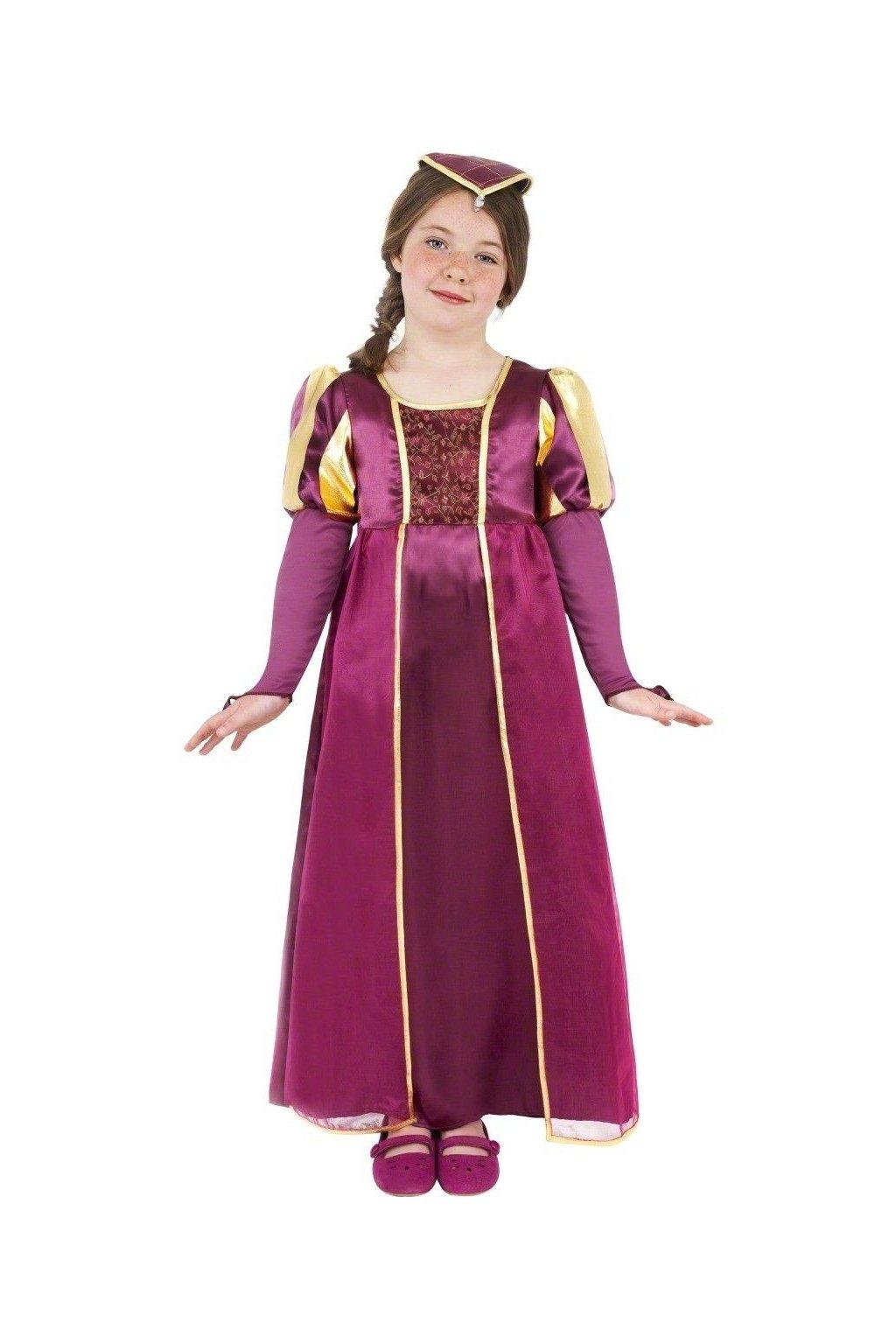 Kostým princezny - Tudor