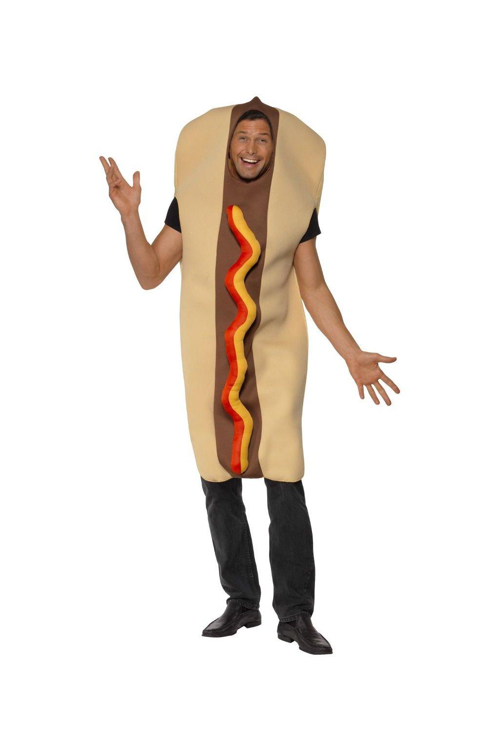 Kostým HOT DOG - párek v rohlíku