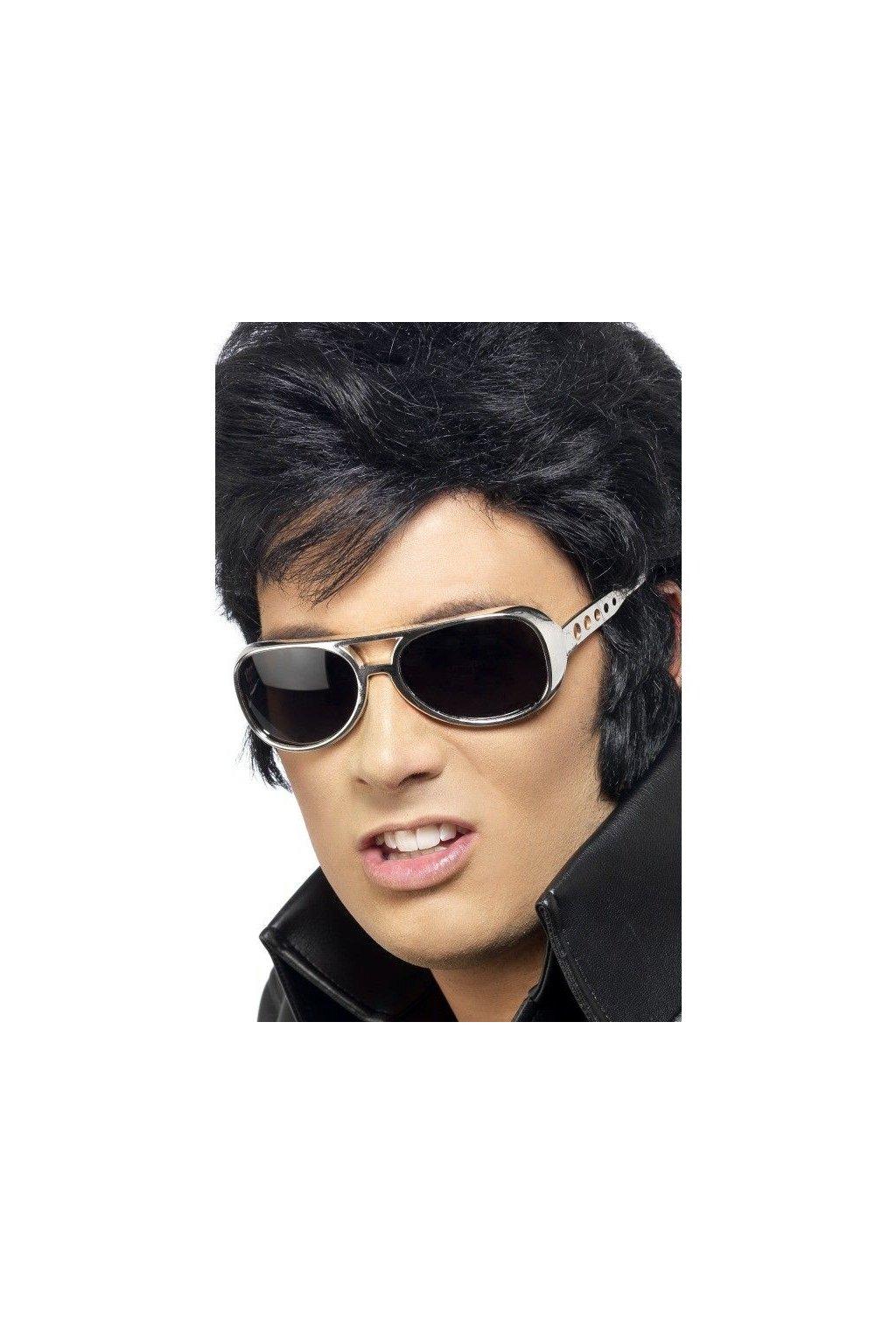 Stříbrné brýle Elvis
