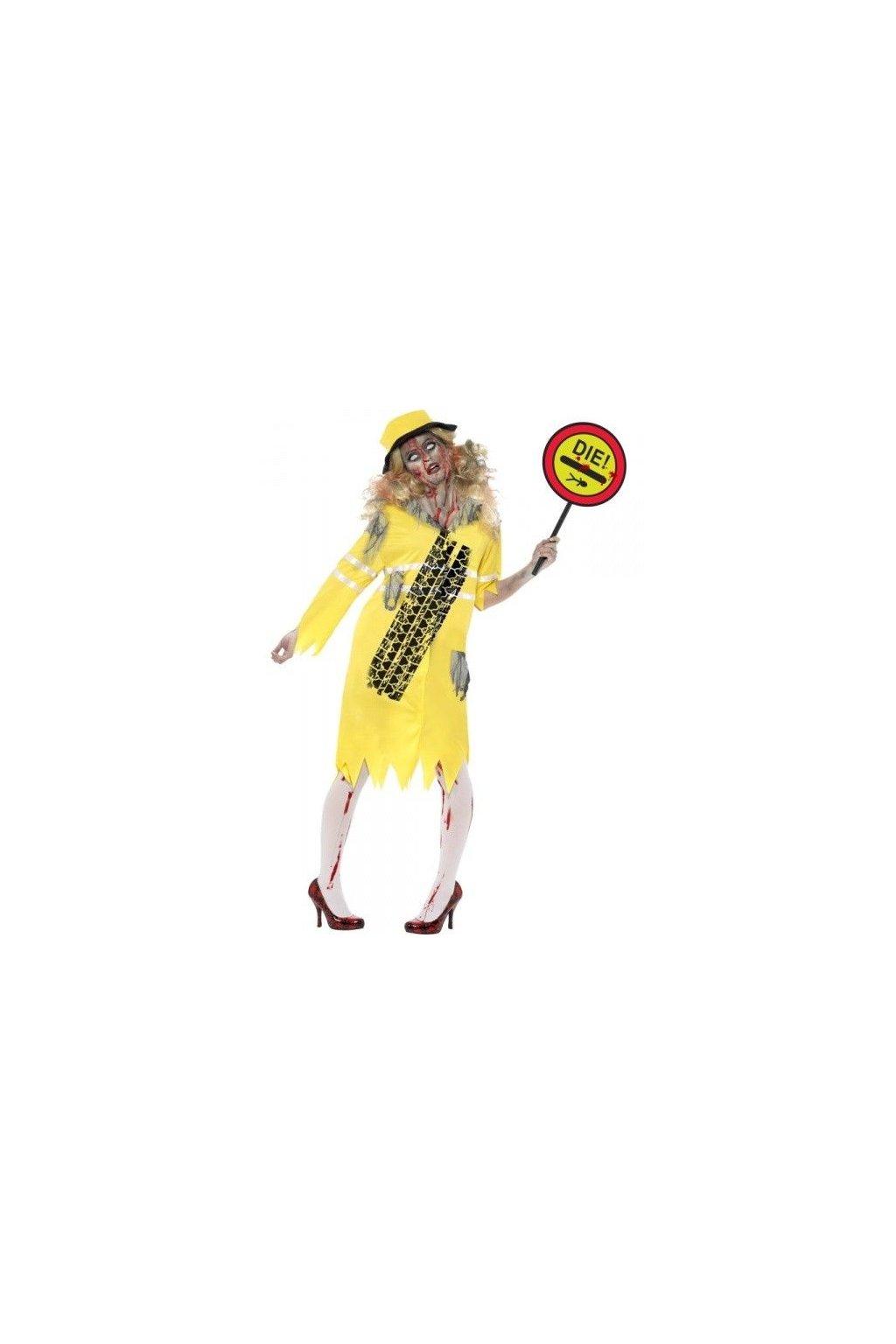 Zombie silničářka - Lollipop Lady