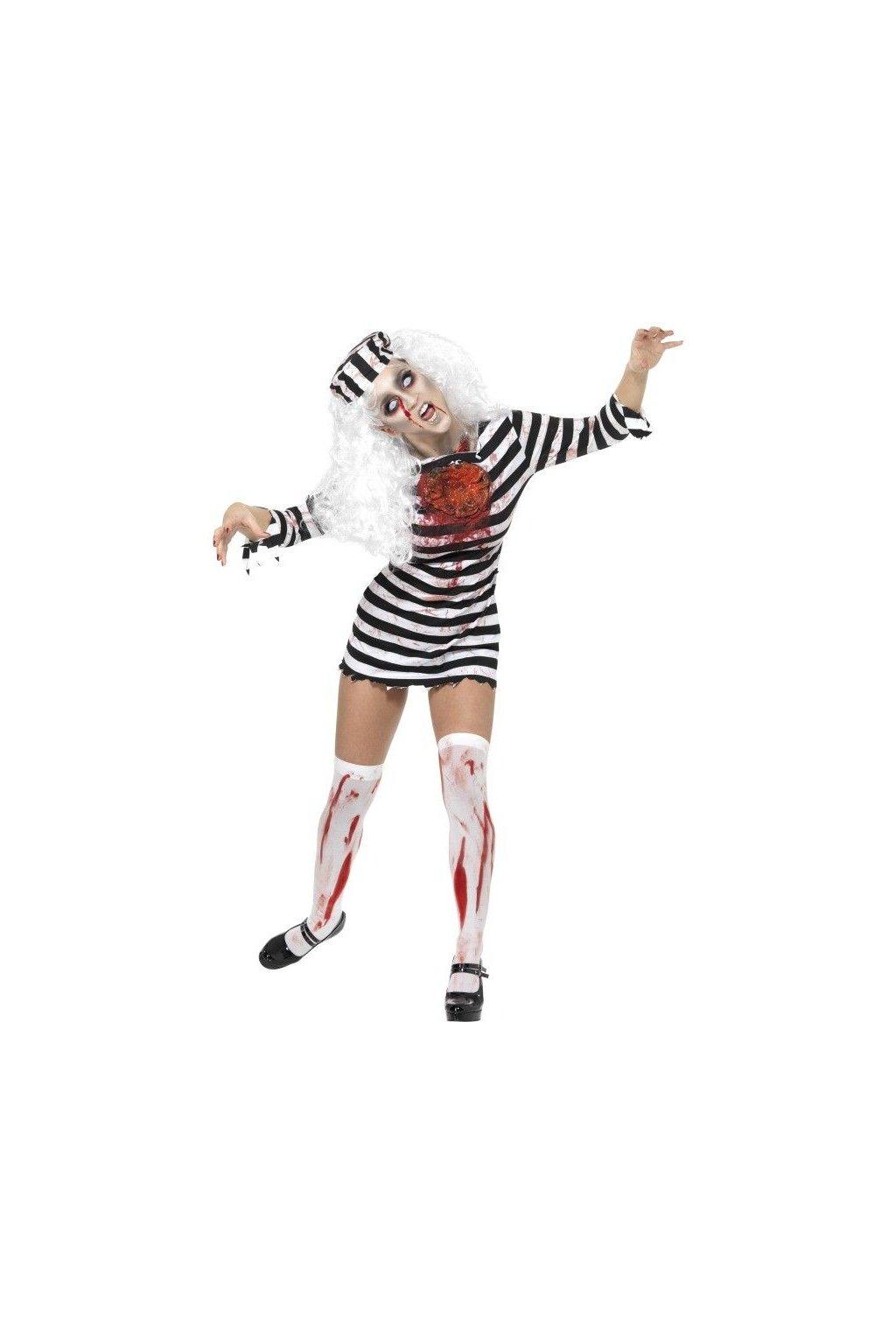 kostým - Zombie vězenkyně