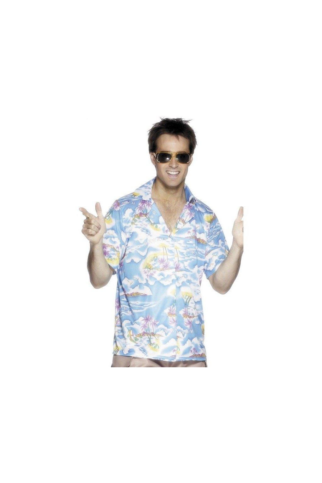 Havajská košile - modrá