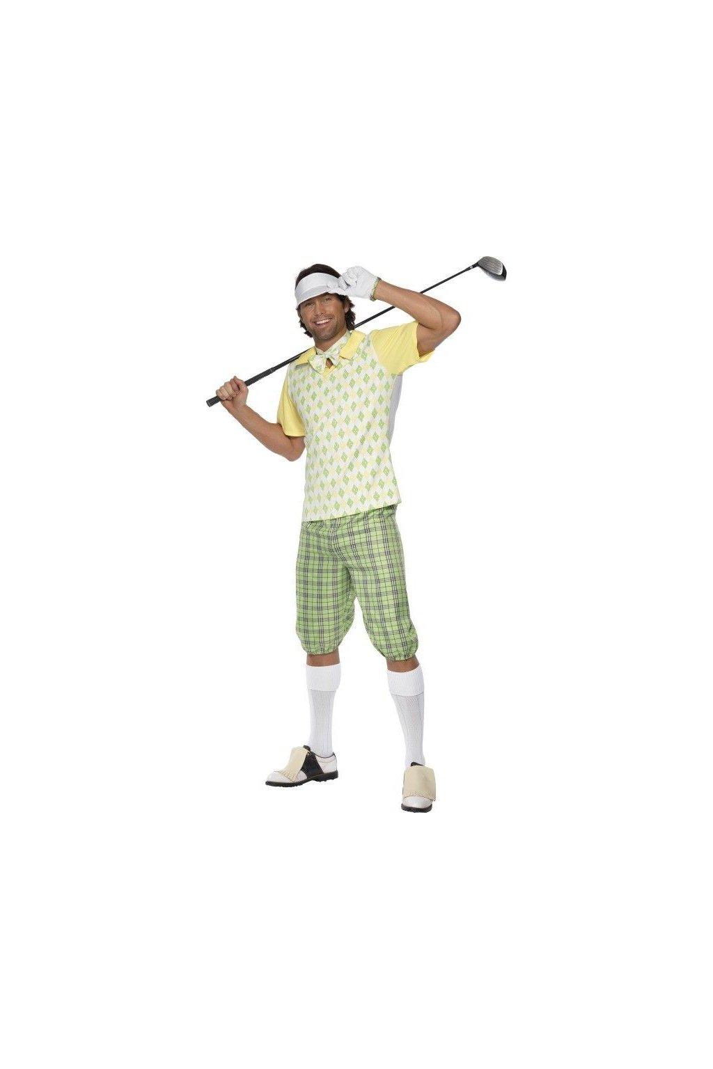 Kostým golfisty