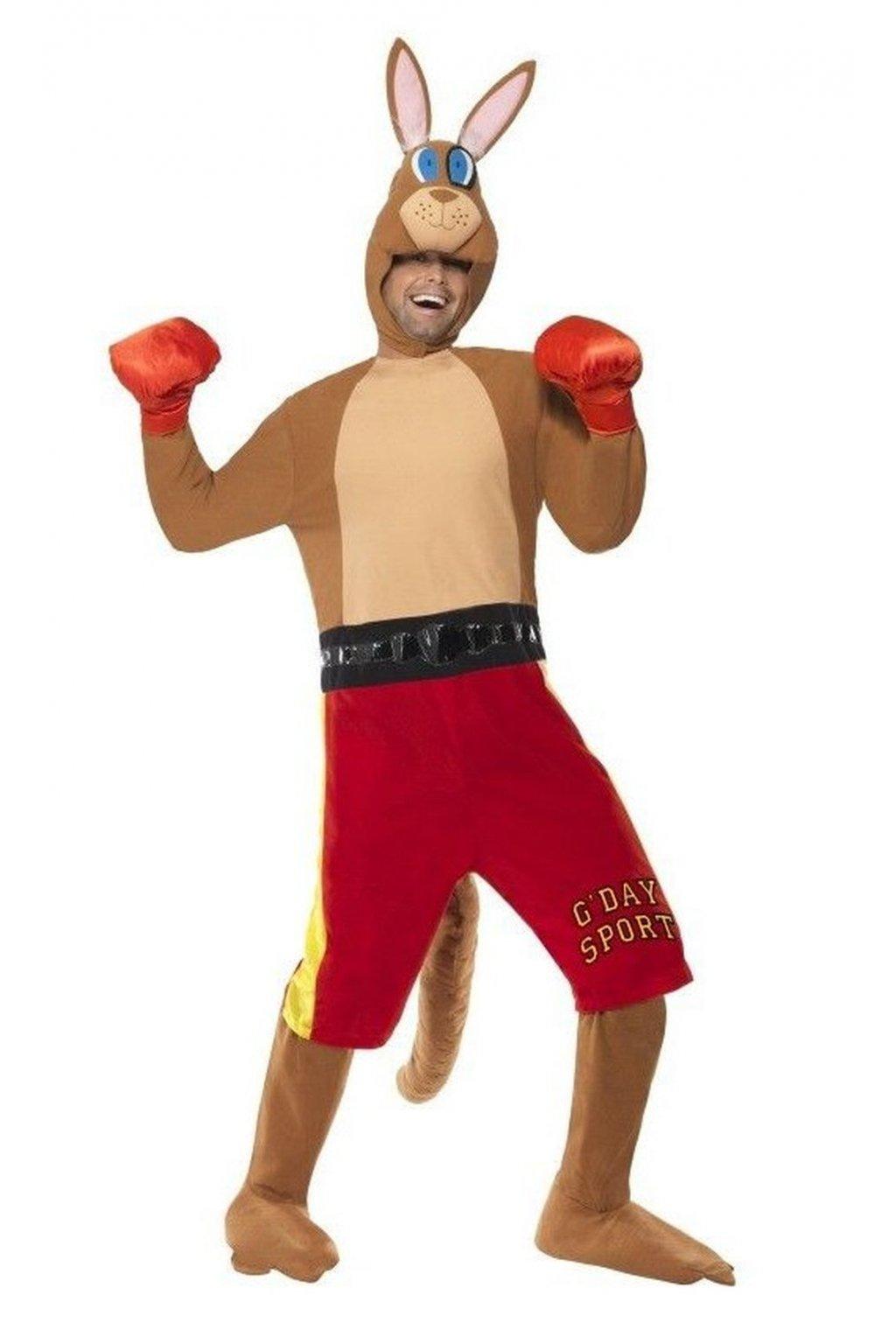 Kostým klokan boxer