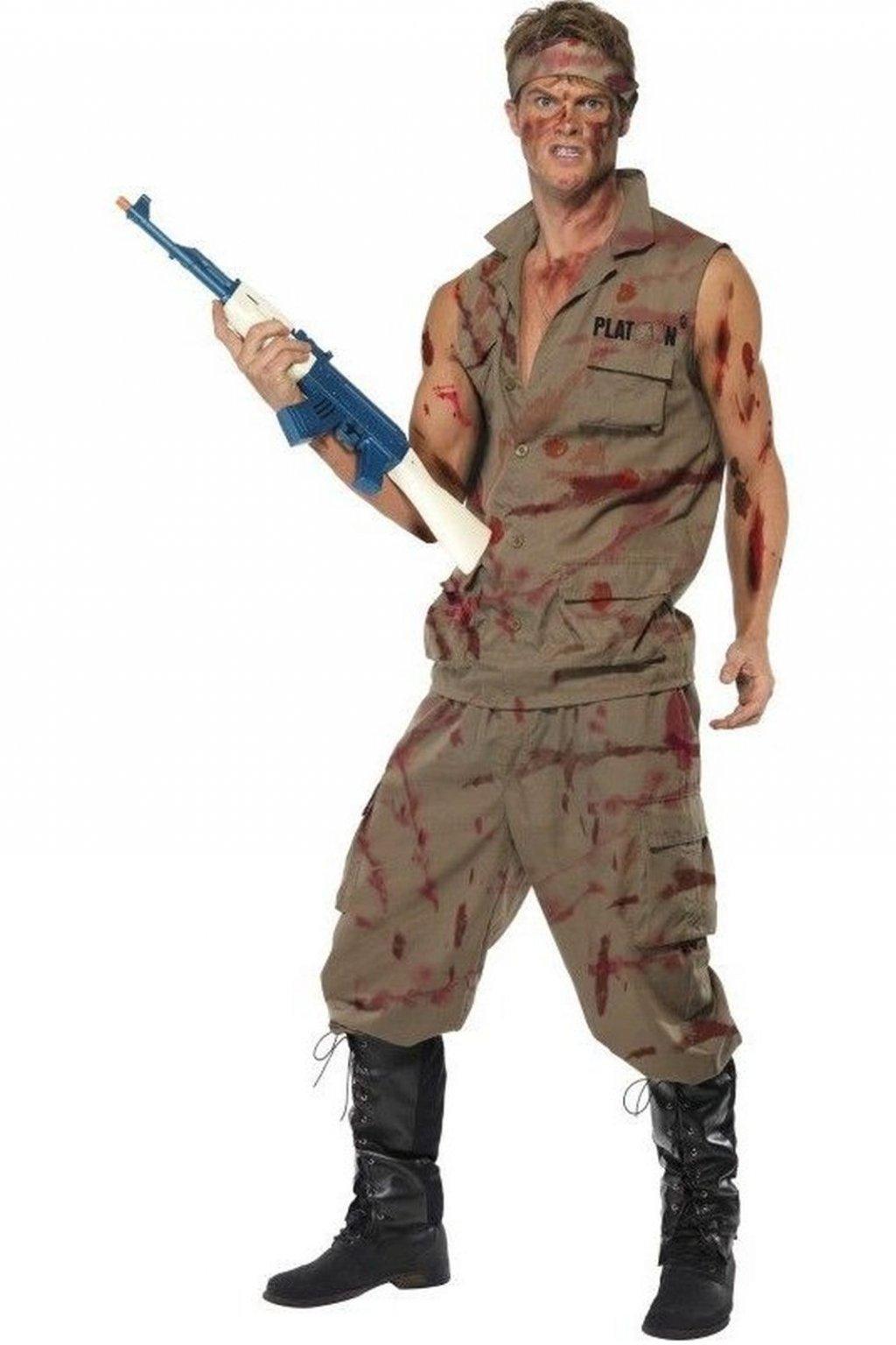 Kostým seržanta Platoon