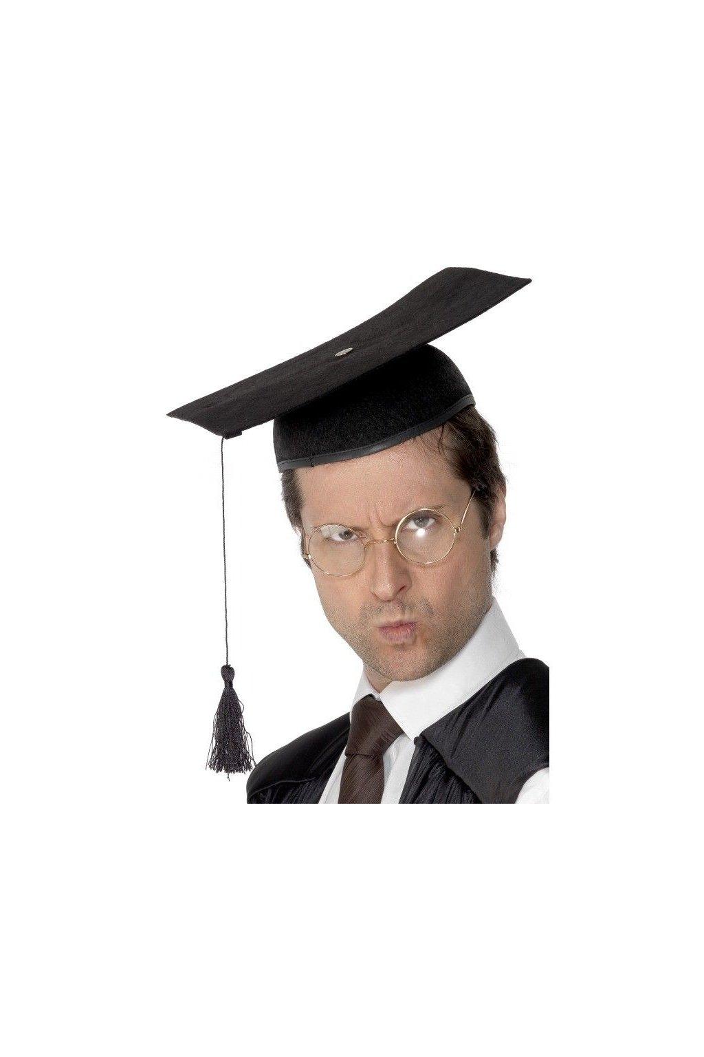 Klobouk Profesor - studentská čepice