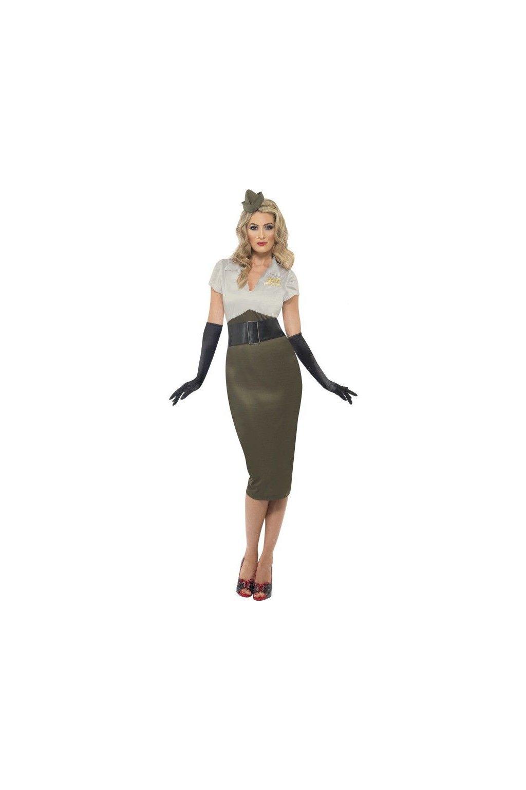 Kostým Army darling - druhá světové válka