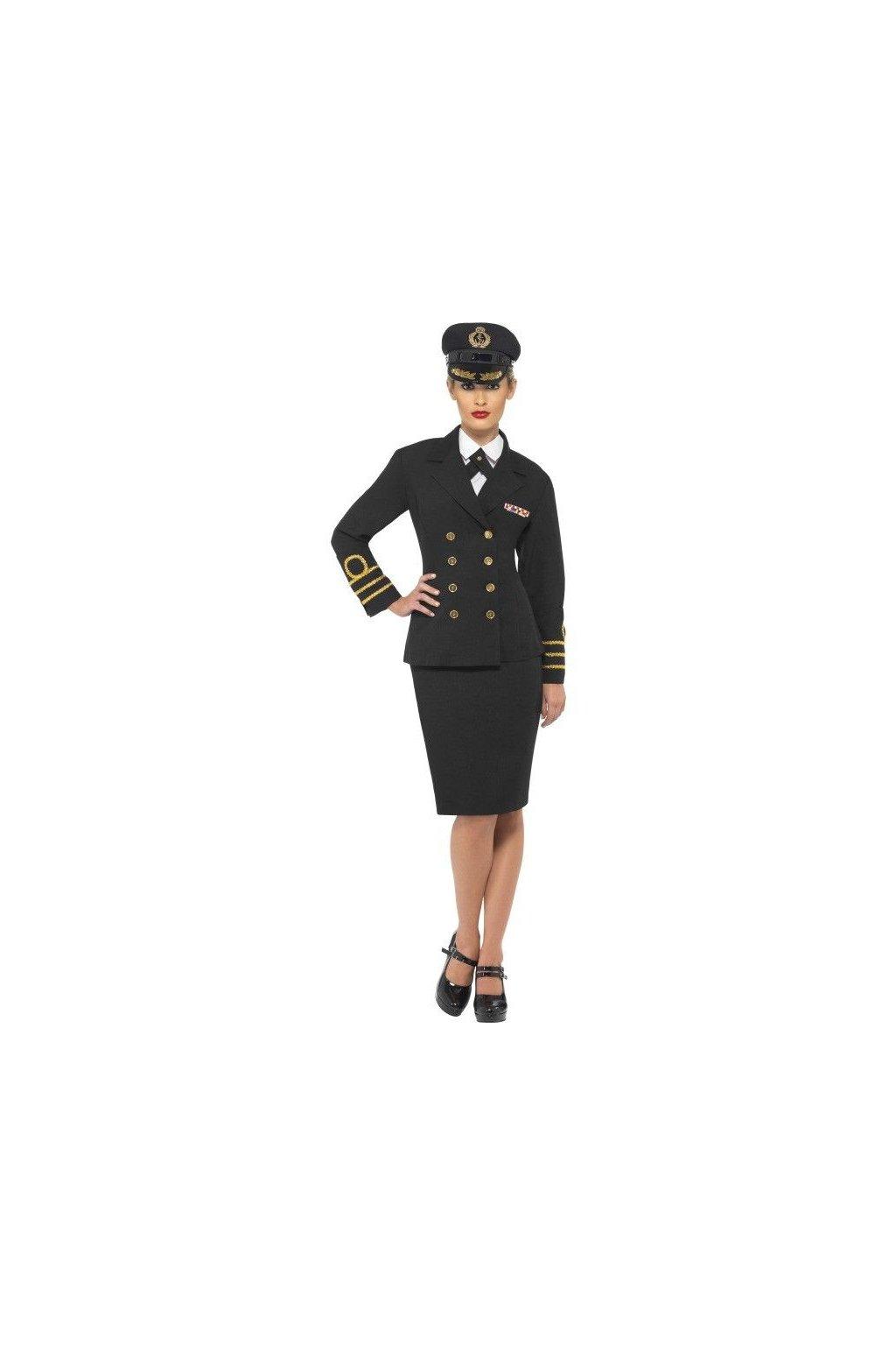 Kostým námořní důstojnice - Navy officer