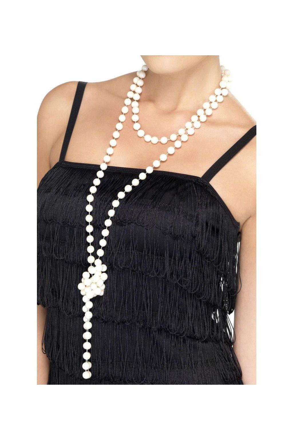Perlový náhrdelník - 180 cm