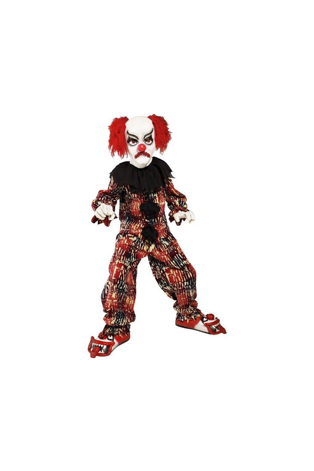 Dětský kostým zlého klauna