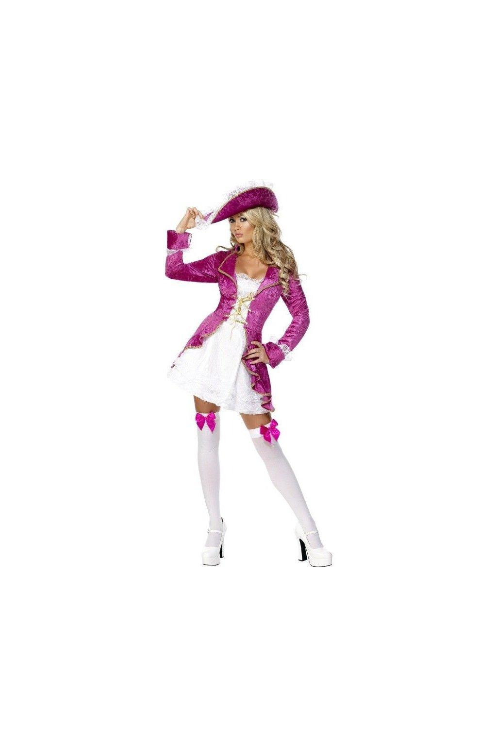 Kostým - Sexy pirátka