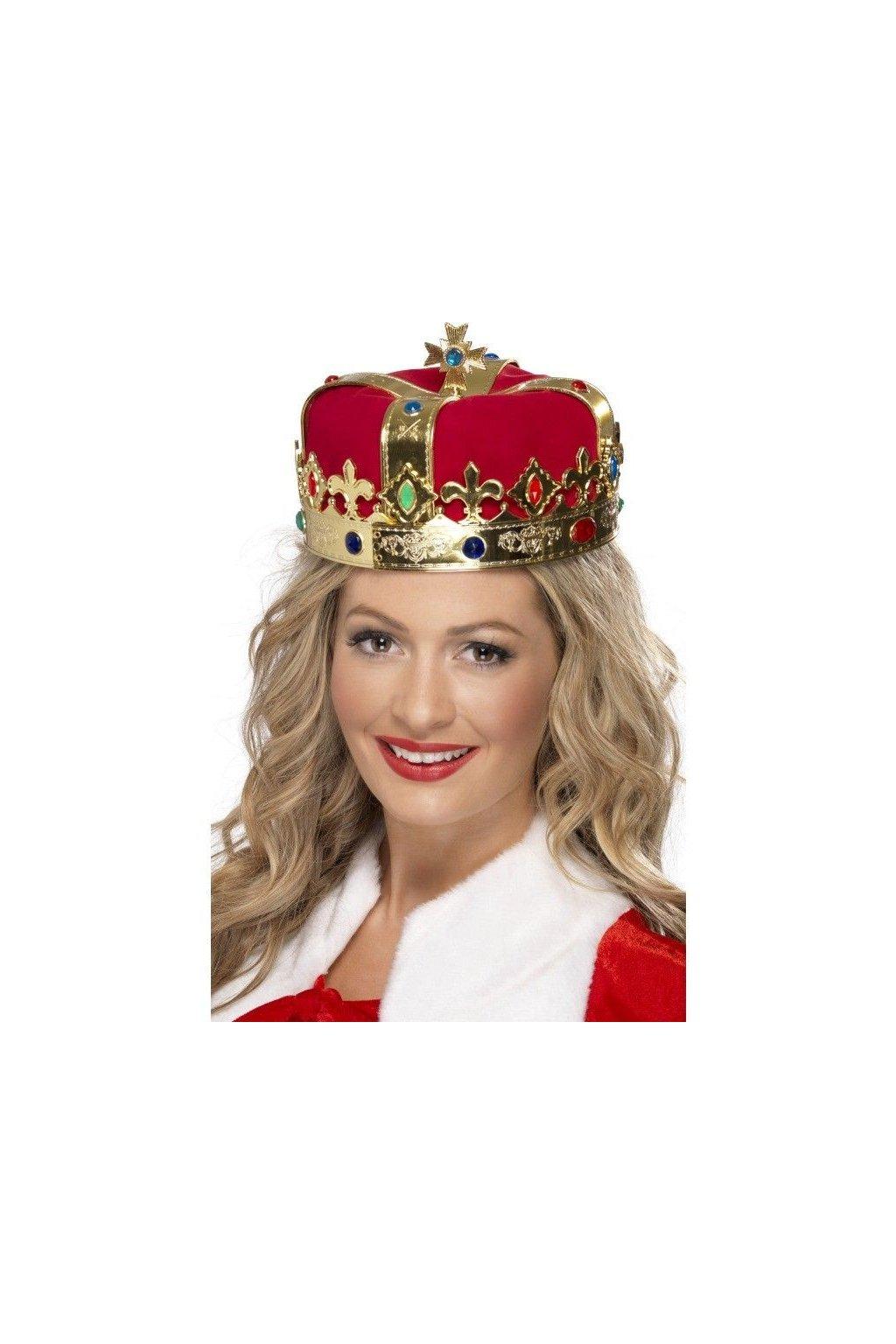 Královská koruna s drahokamy