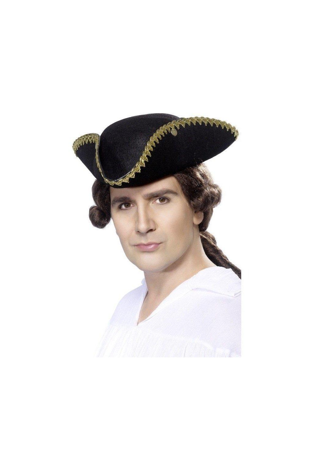 Pirátský klobouk - Třírohý