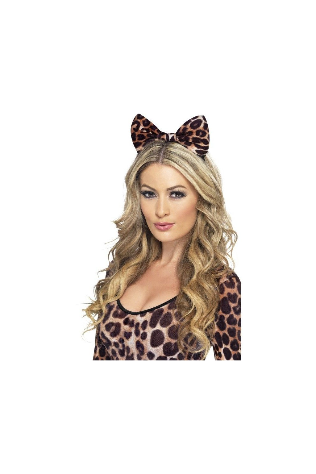 Gepardí mašle na čelence