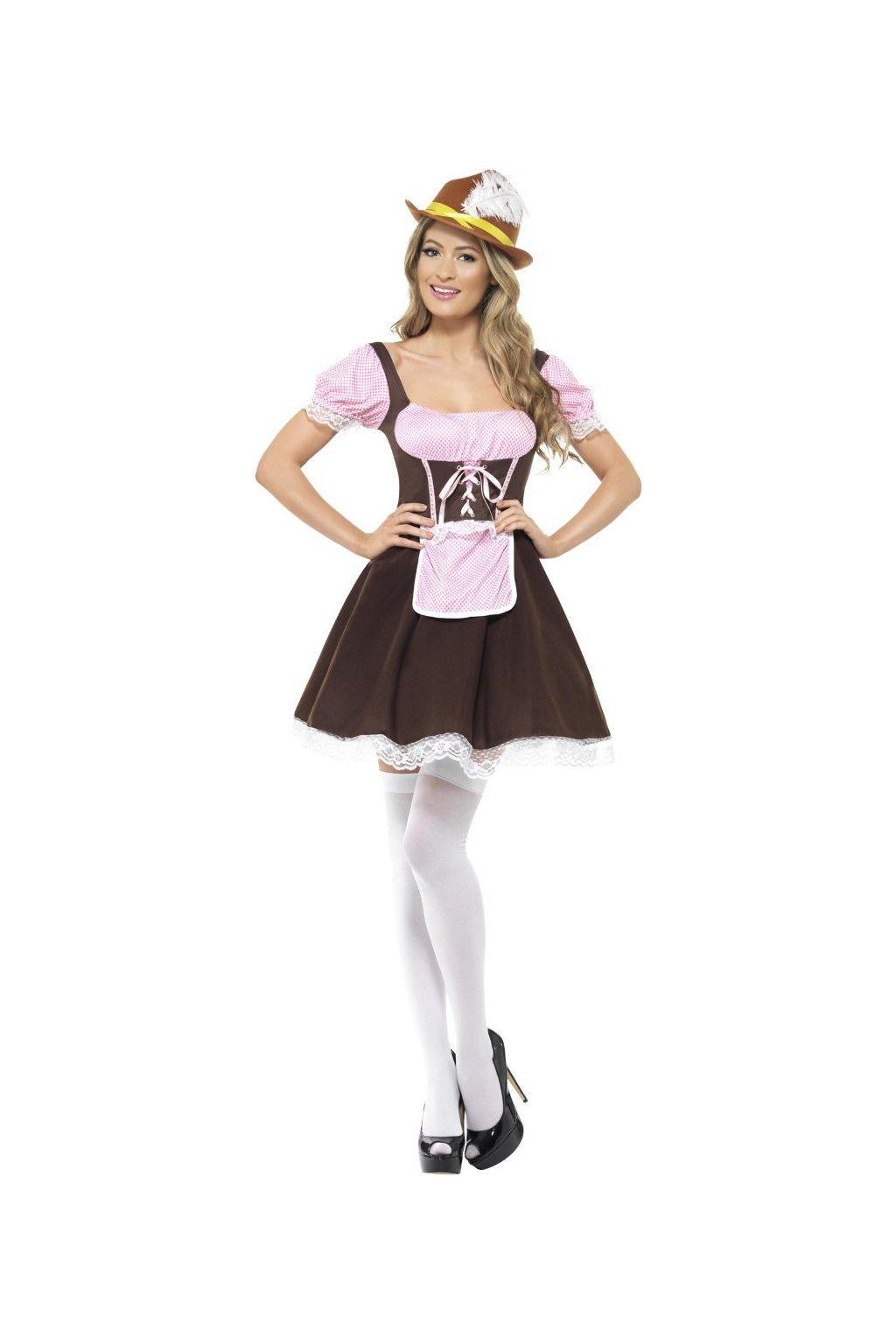 Kostým hospodské - Bavorka Oktoberfest