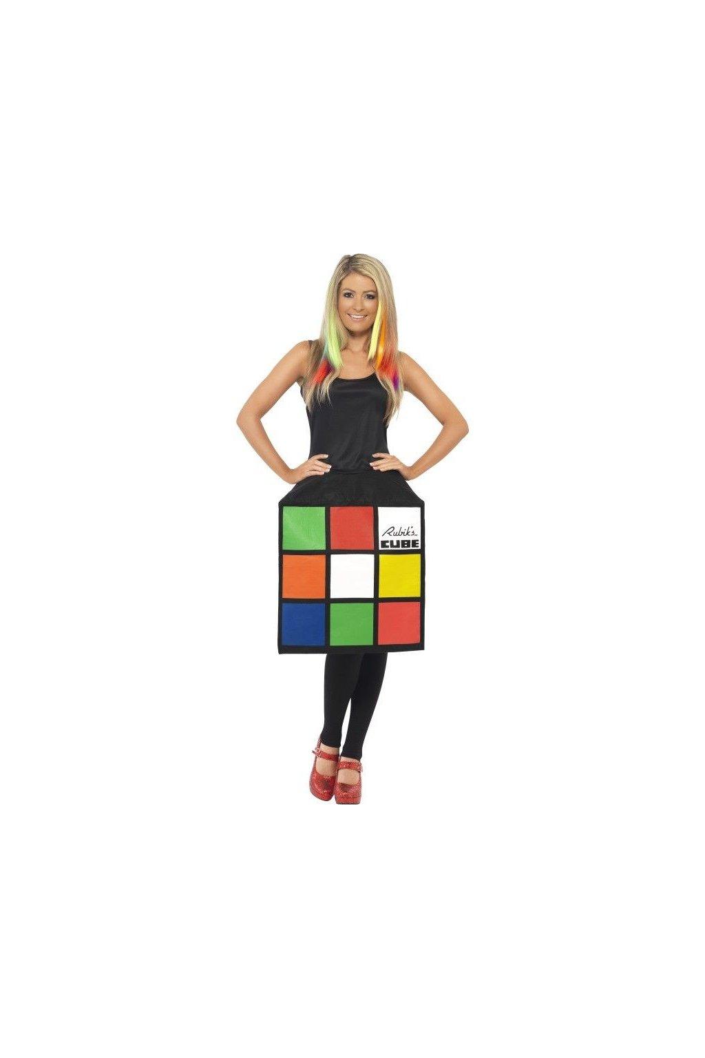 Kostým Rubikova kostka 3D
