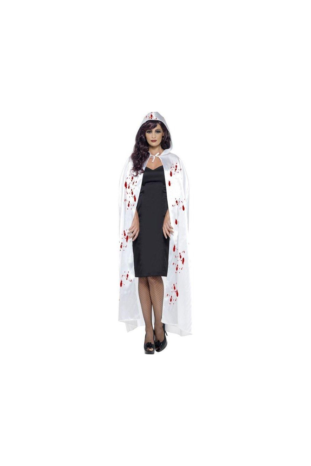Bílý plášť s krví