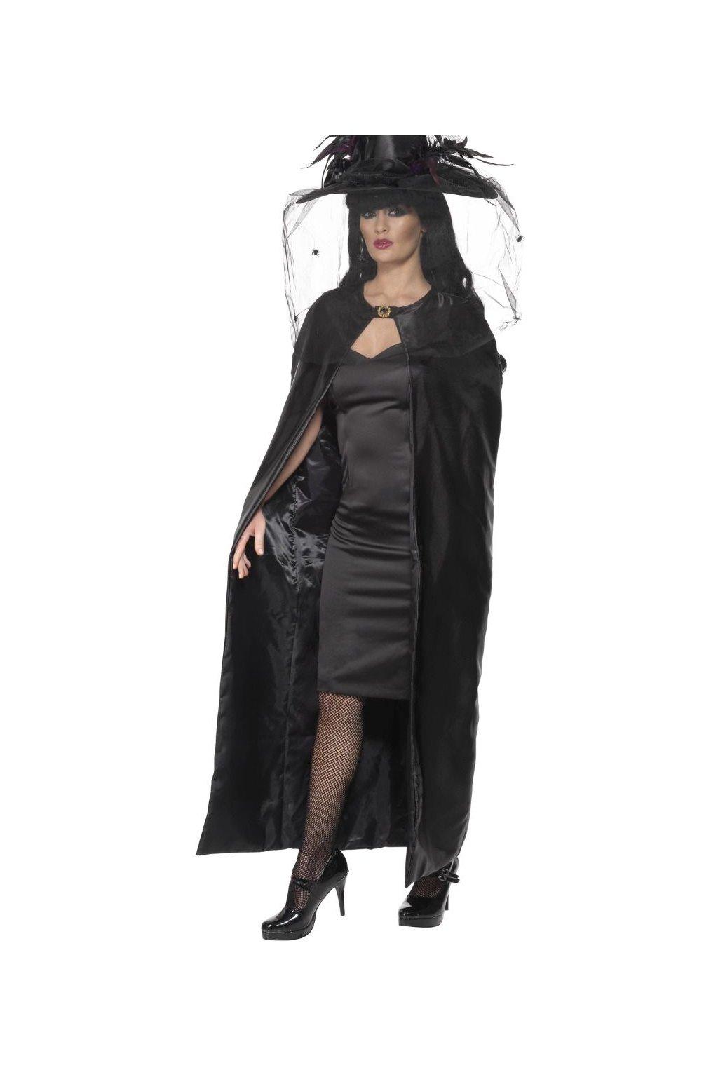 Plášť čarodějnice - černý