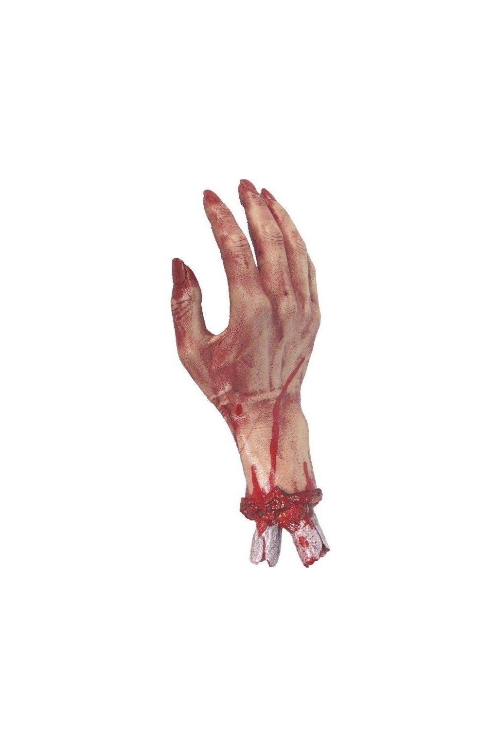 Krvavá ruka realistická