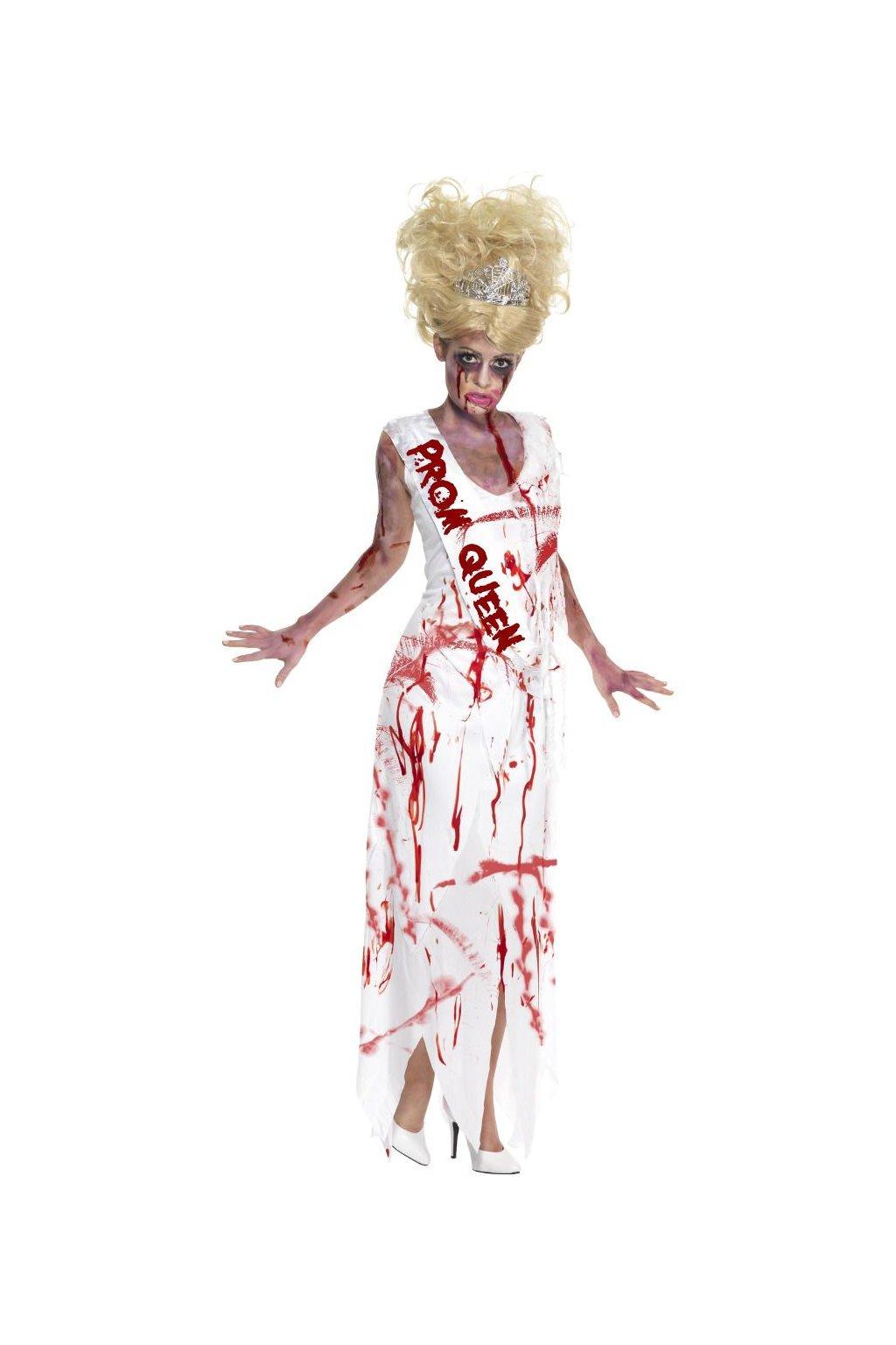 Krvavá královna plesu - dámský kostým Halloweeen