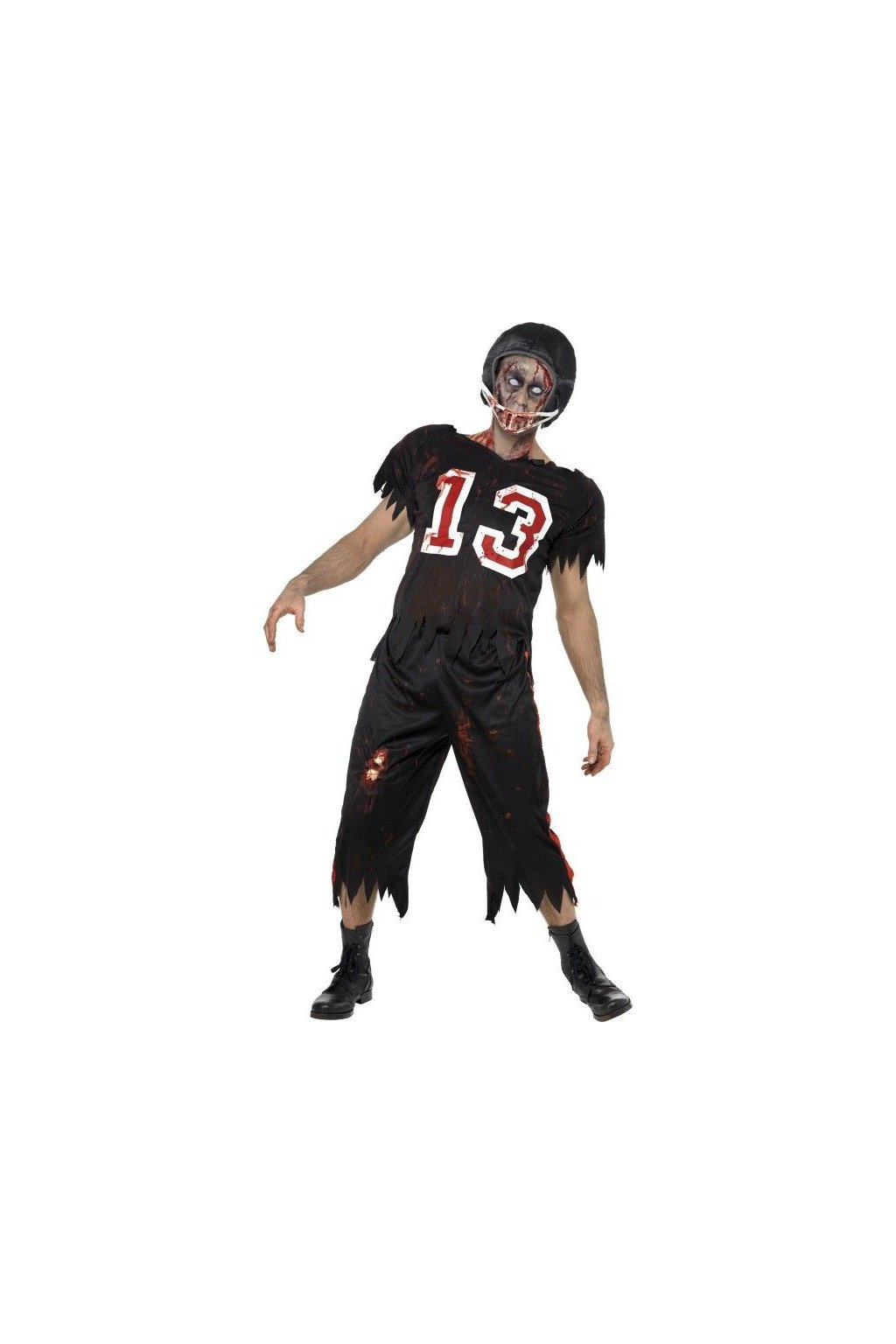 Kostým High School zombie fotbalista