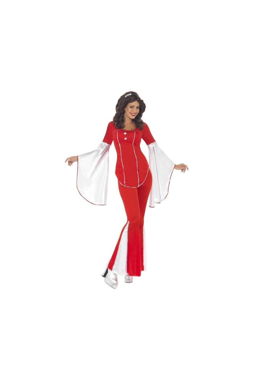Kostým Super Trooper červený