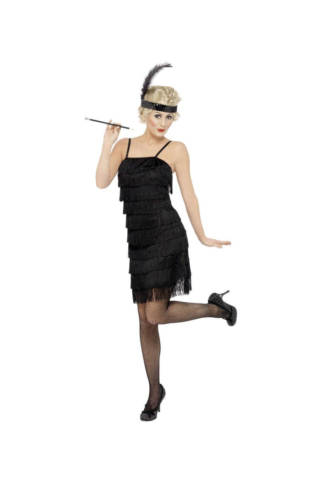 Flapper - dámský kostým 20. léta