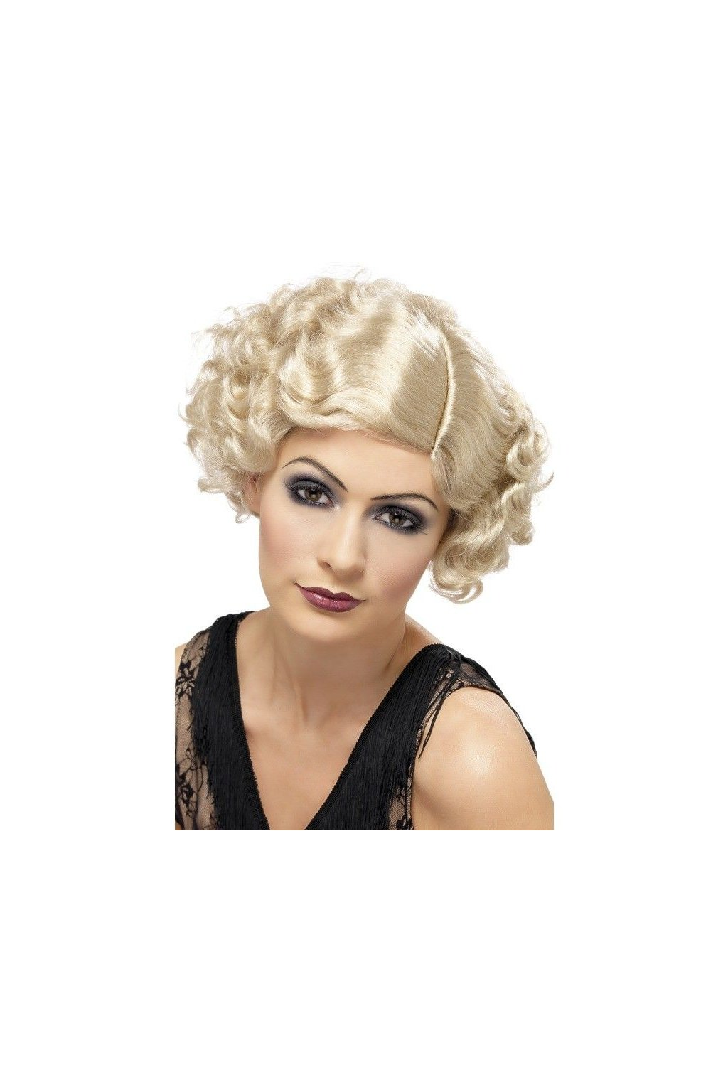 Paruka Flapper blond