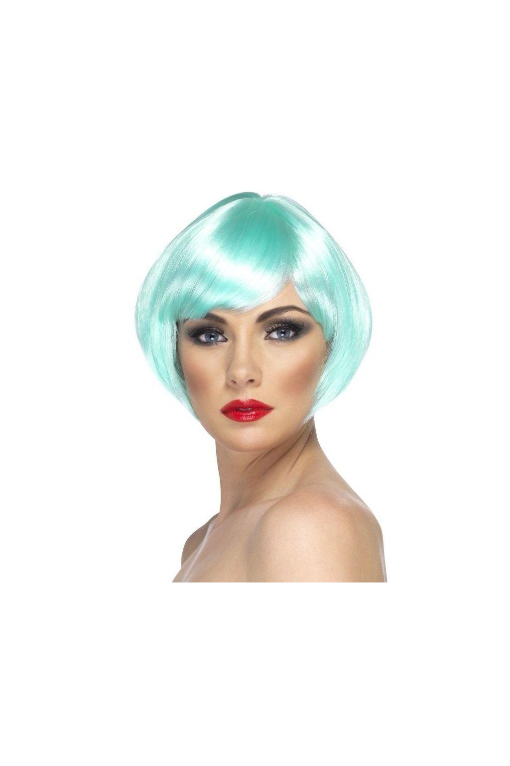 Paruka Babe aqua modrá