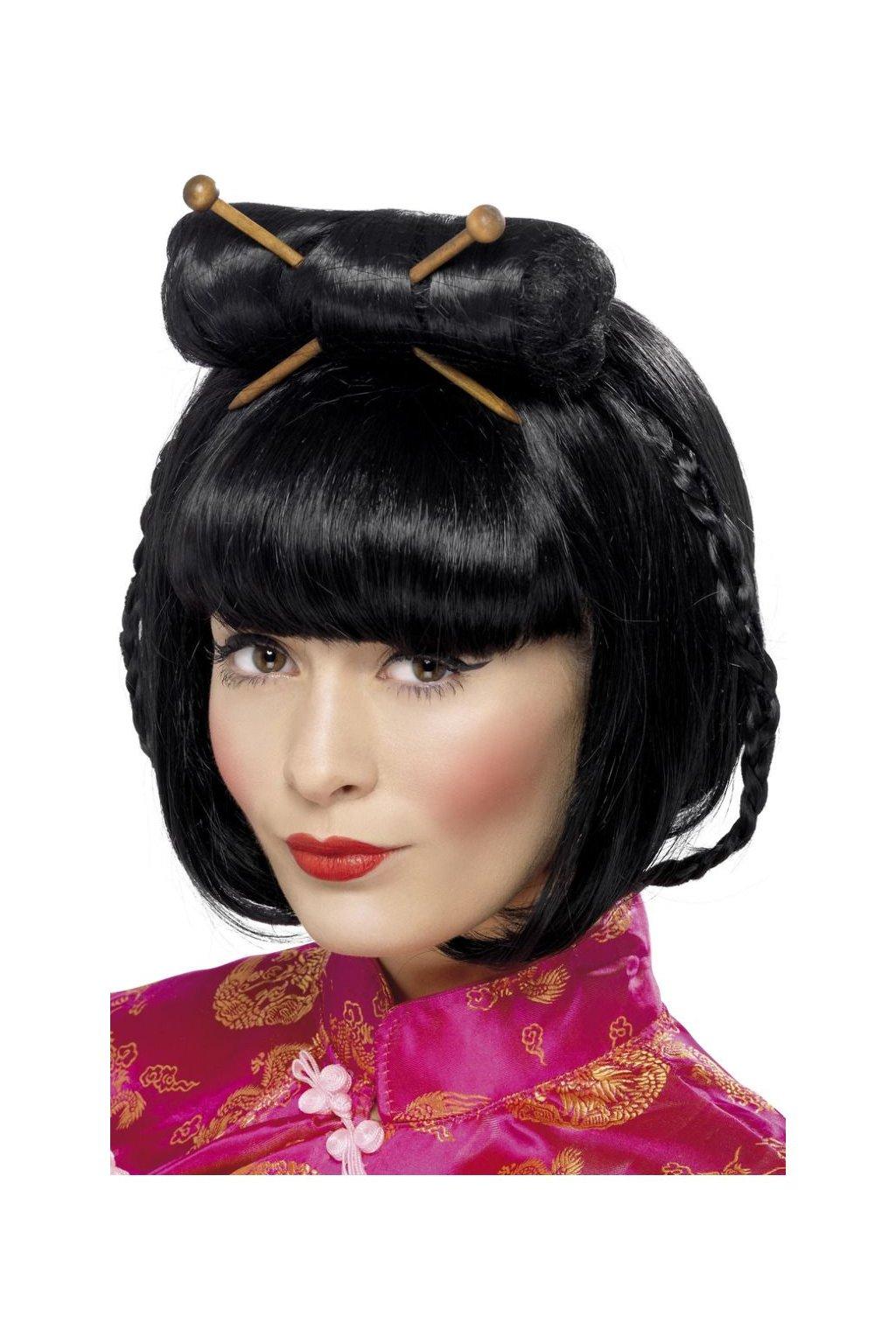 Japonka - dámská paruka Oriental lady
