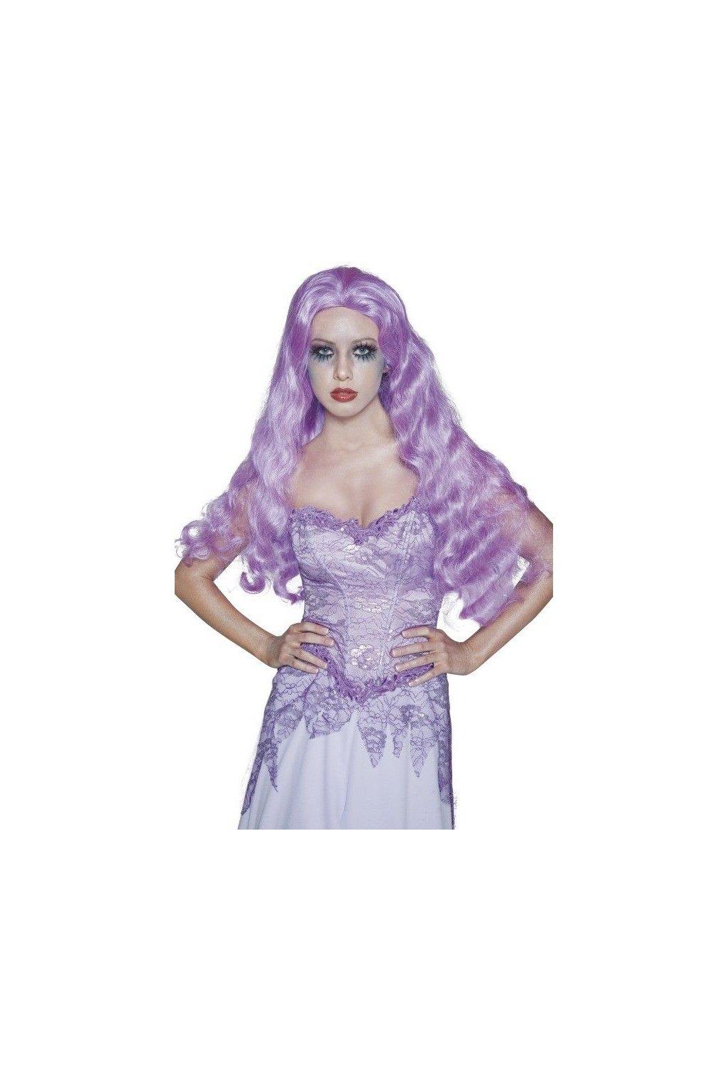 Paruka fialová Nevěstin duch