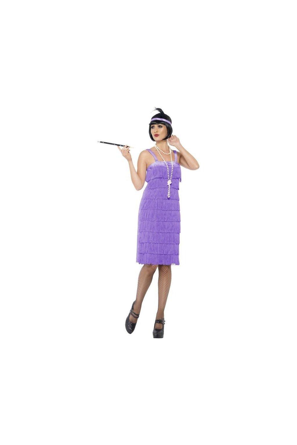 Kostým Jazz Flapper lila