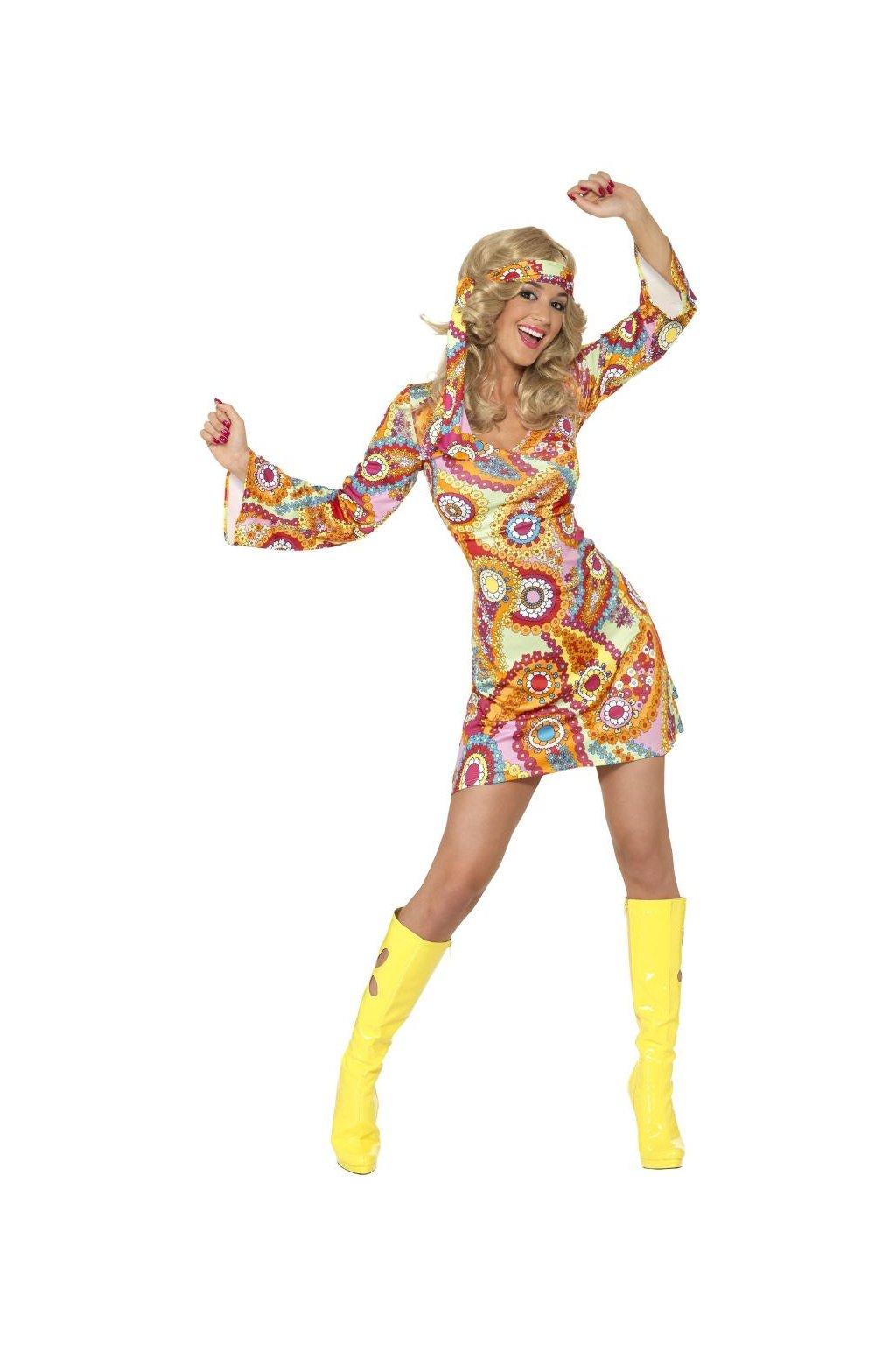 Dámský kostým Hippies 60. léta