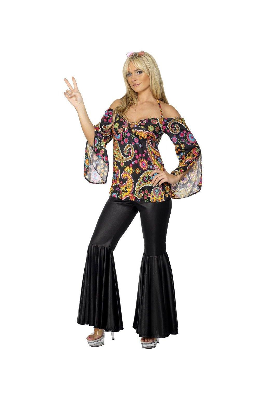 Hippiesačka 60. léta - dámský kostým