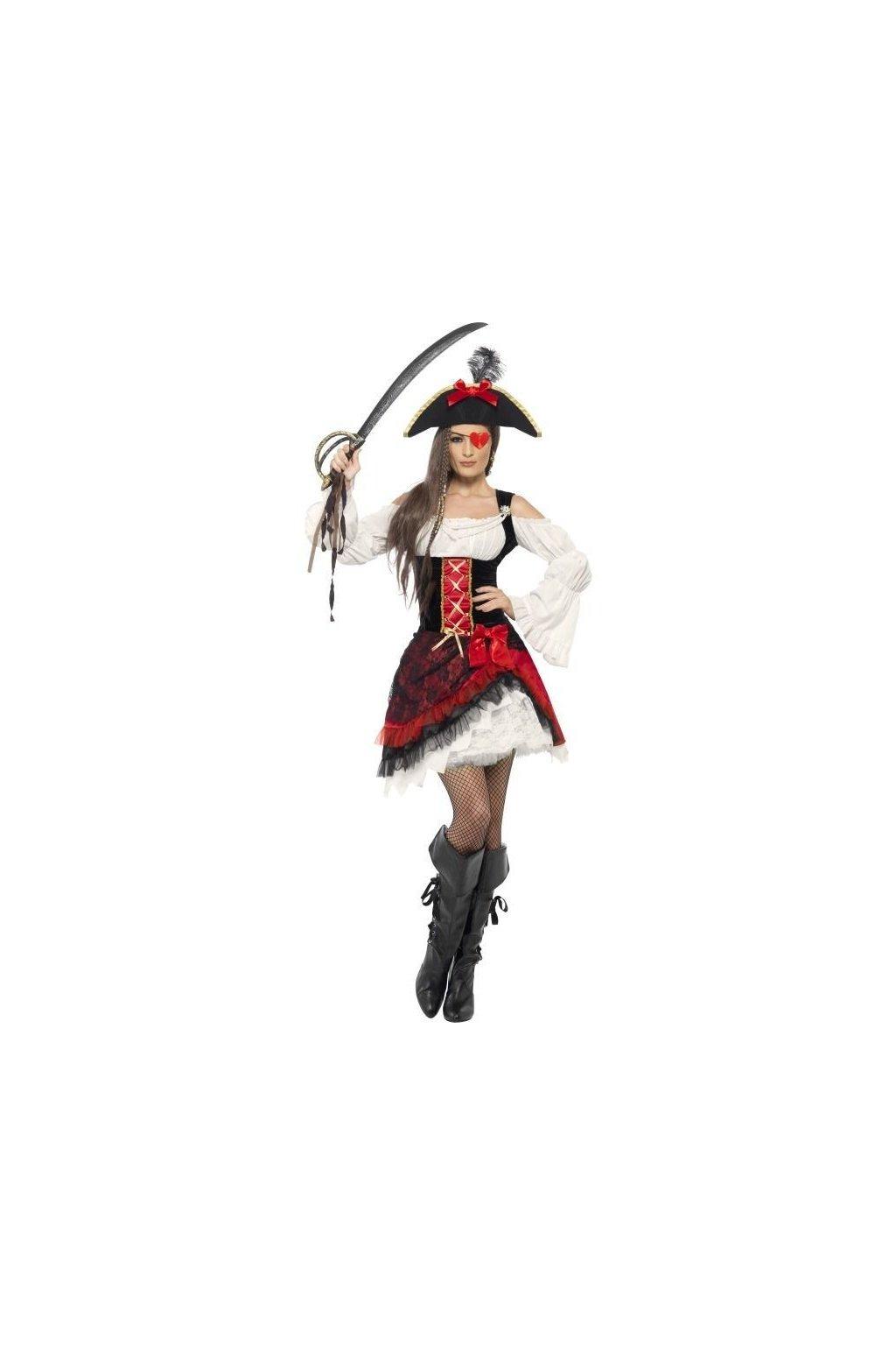 Kostým okouzlující pirátská dívka