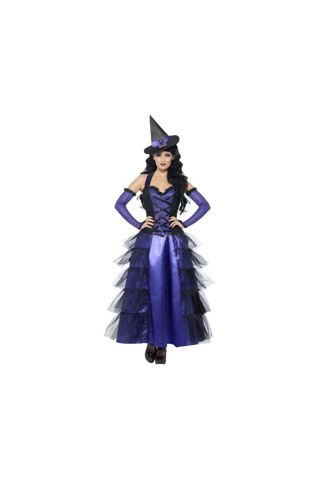 Karnevalový kostým - čarodějnice