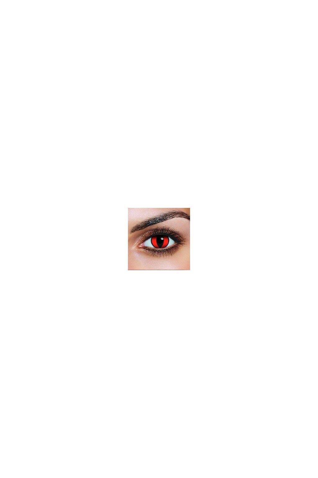 Barevné kontaktní čočky - Red Cat