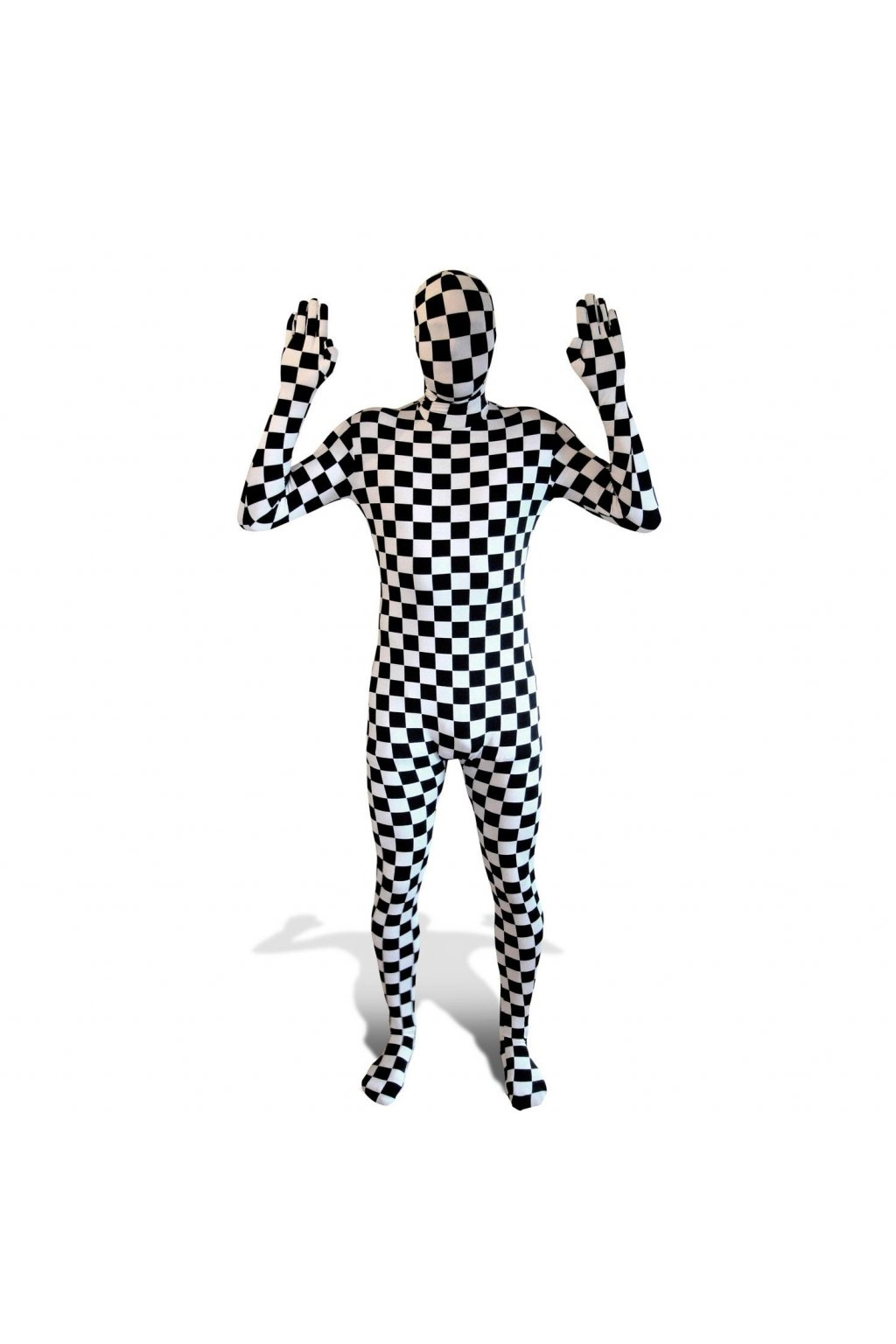 Kostým Black and White - morphsuit
