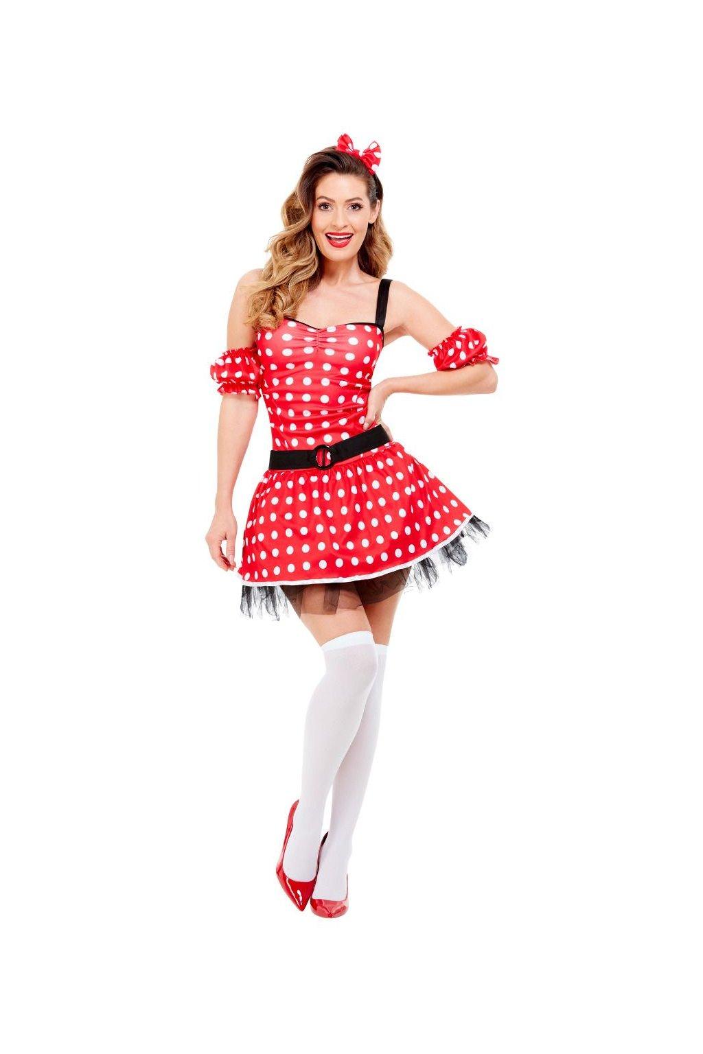 Kostým Minnie - retro šaty