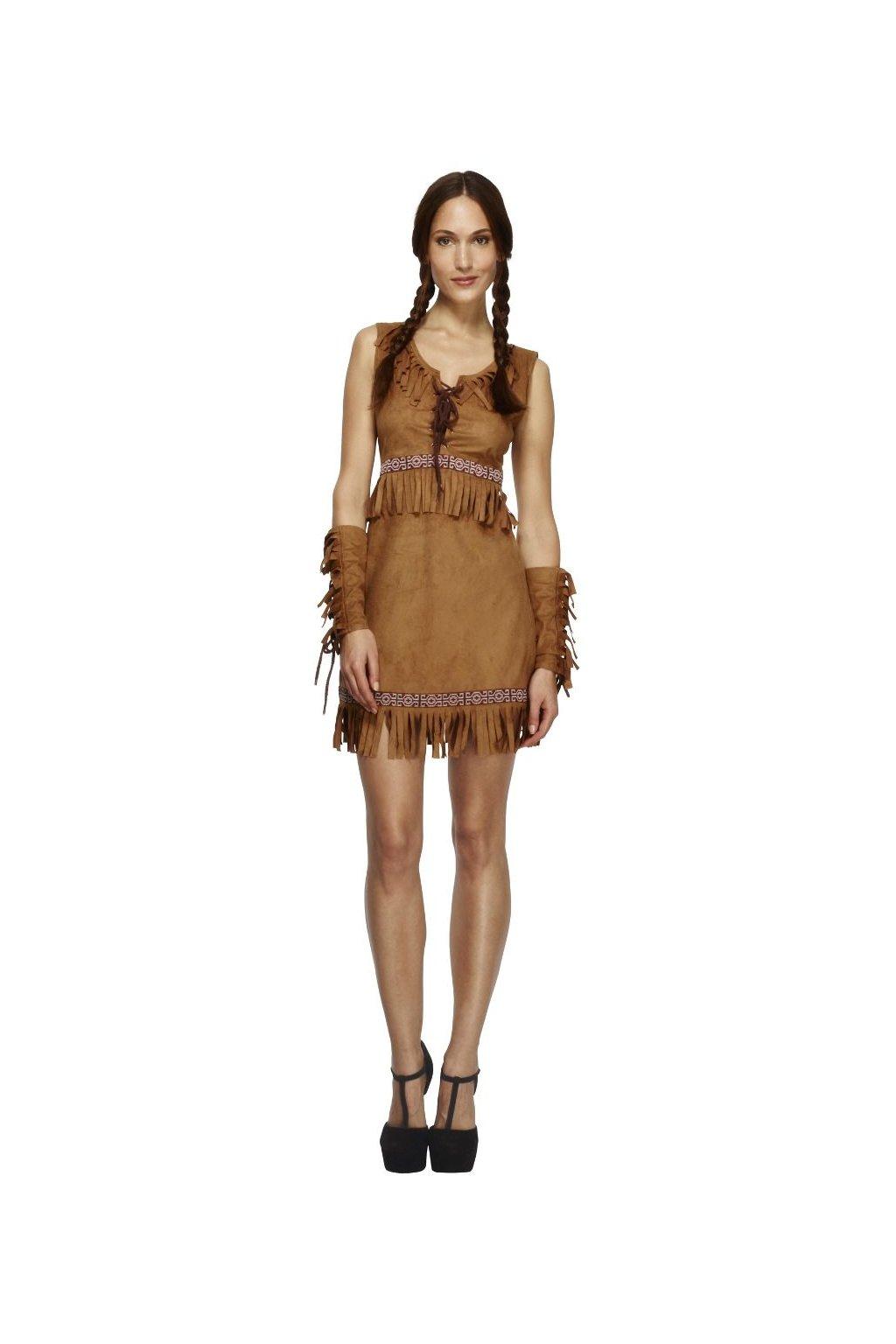 Dámský kostým indiánky - Pocahontas Fever