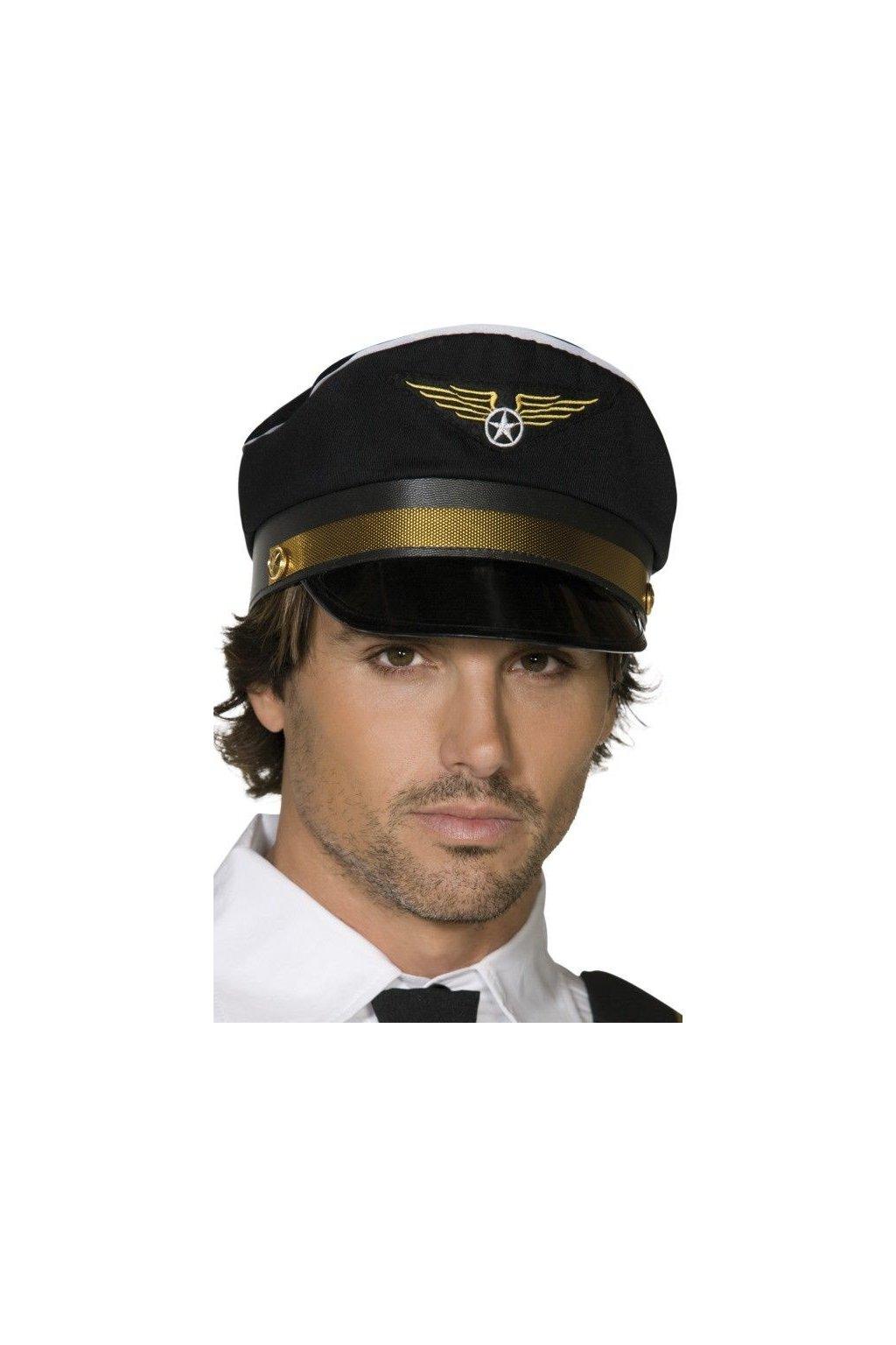 Čepice pro pilota