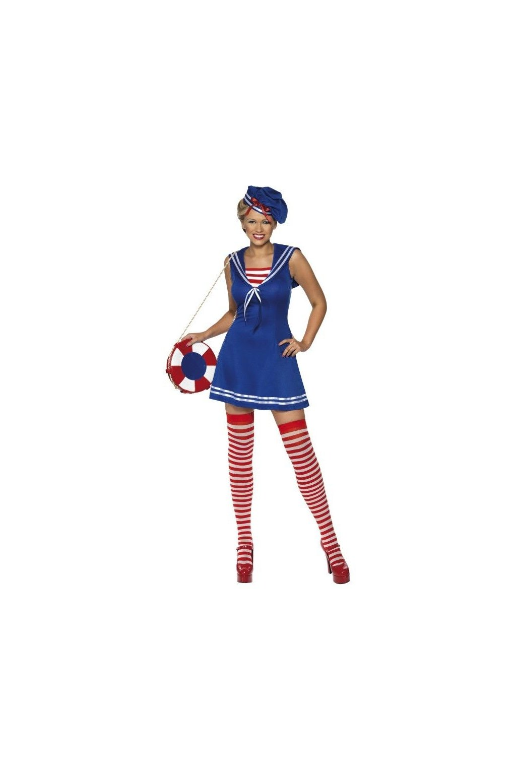Kostým námořnice s punčochama