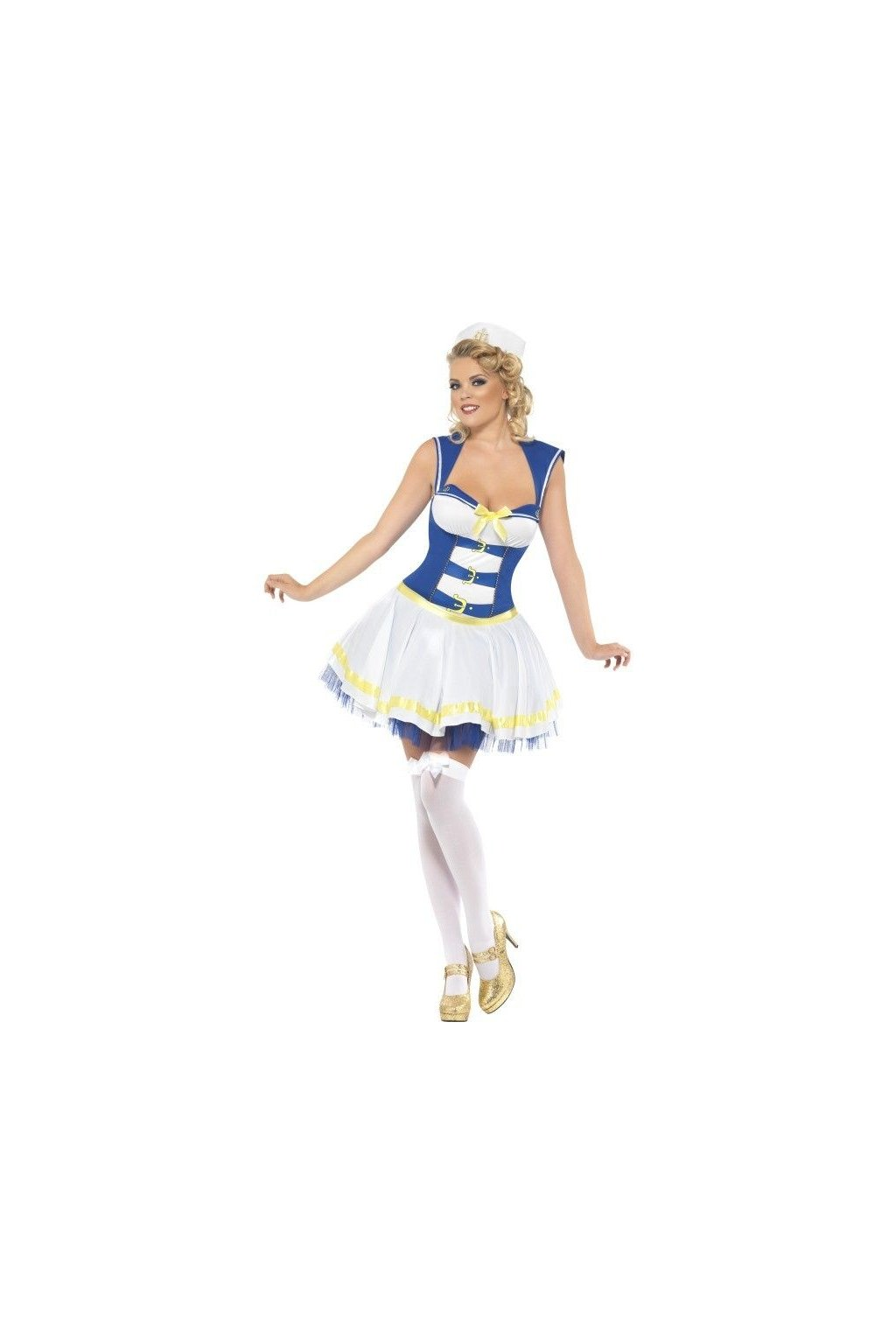 Kostým pro sexy námořnici