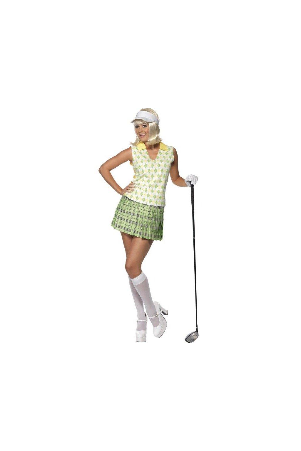 Kostým golfistky
