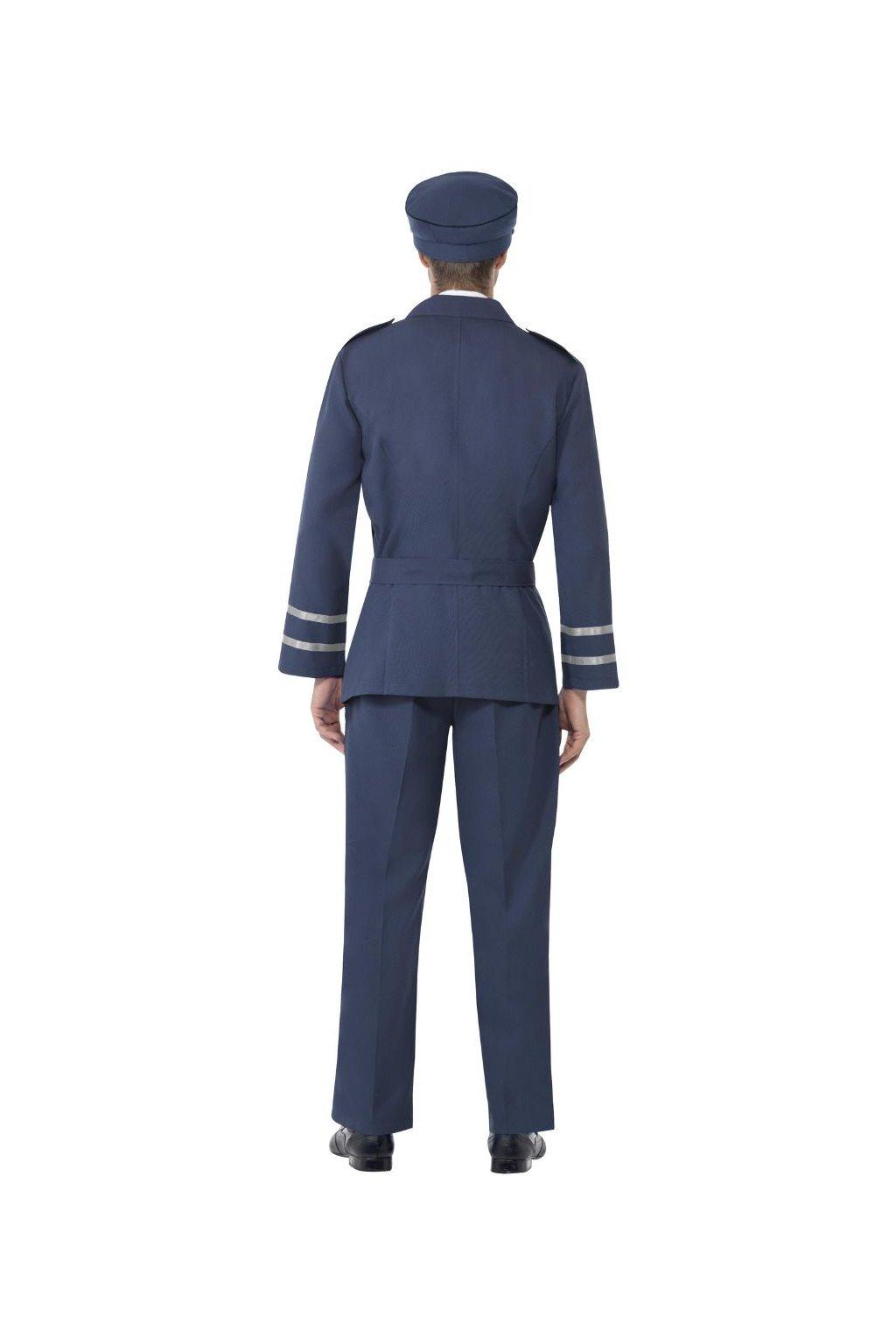 Kostým Air Captain modrý