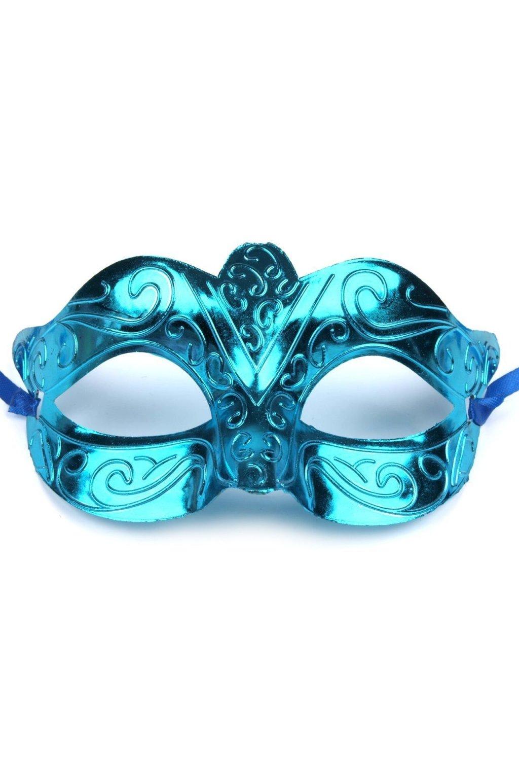 Levná maska modra