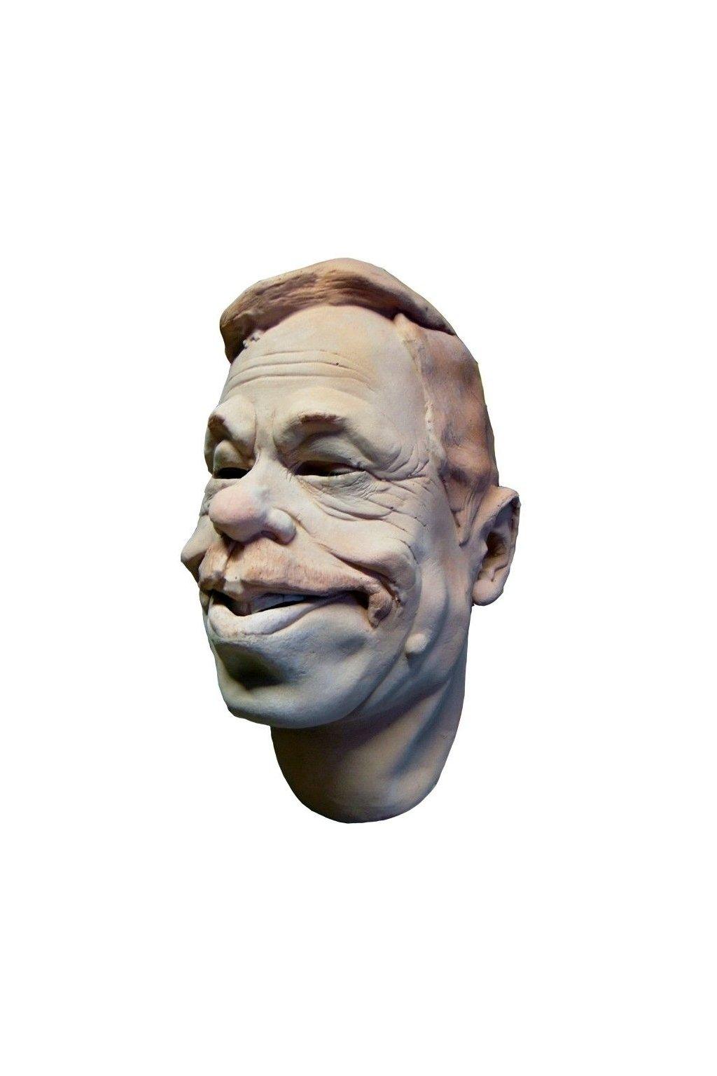 Václav Havel - latexová maska